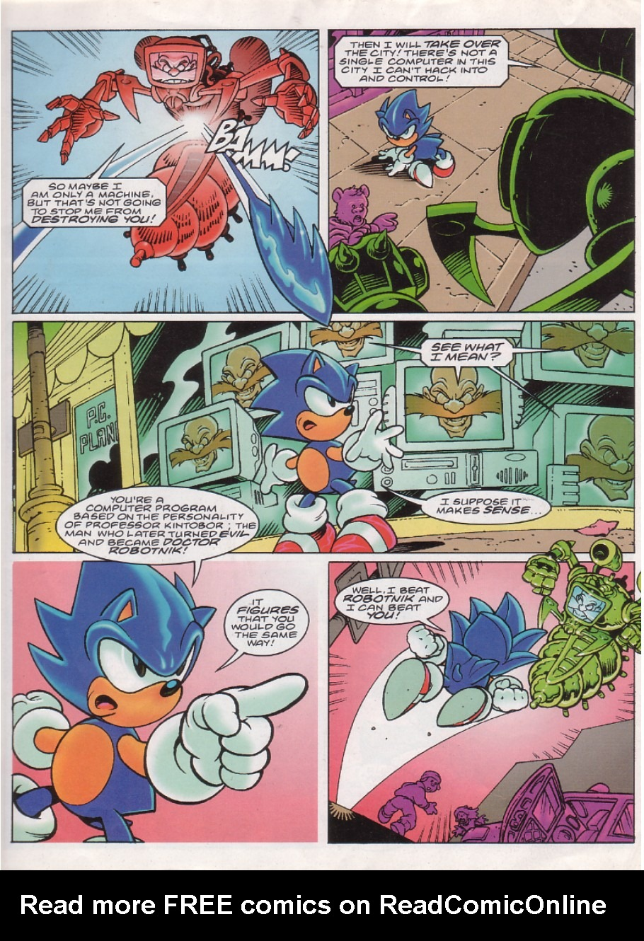 Read online Sonic the Comic comic -  Issue #144 - 3
