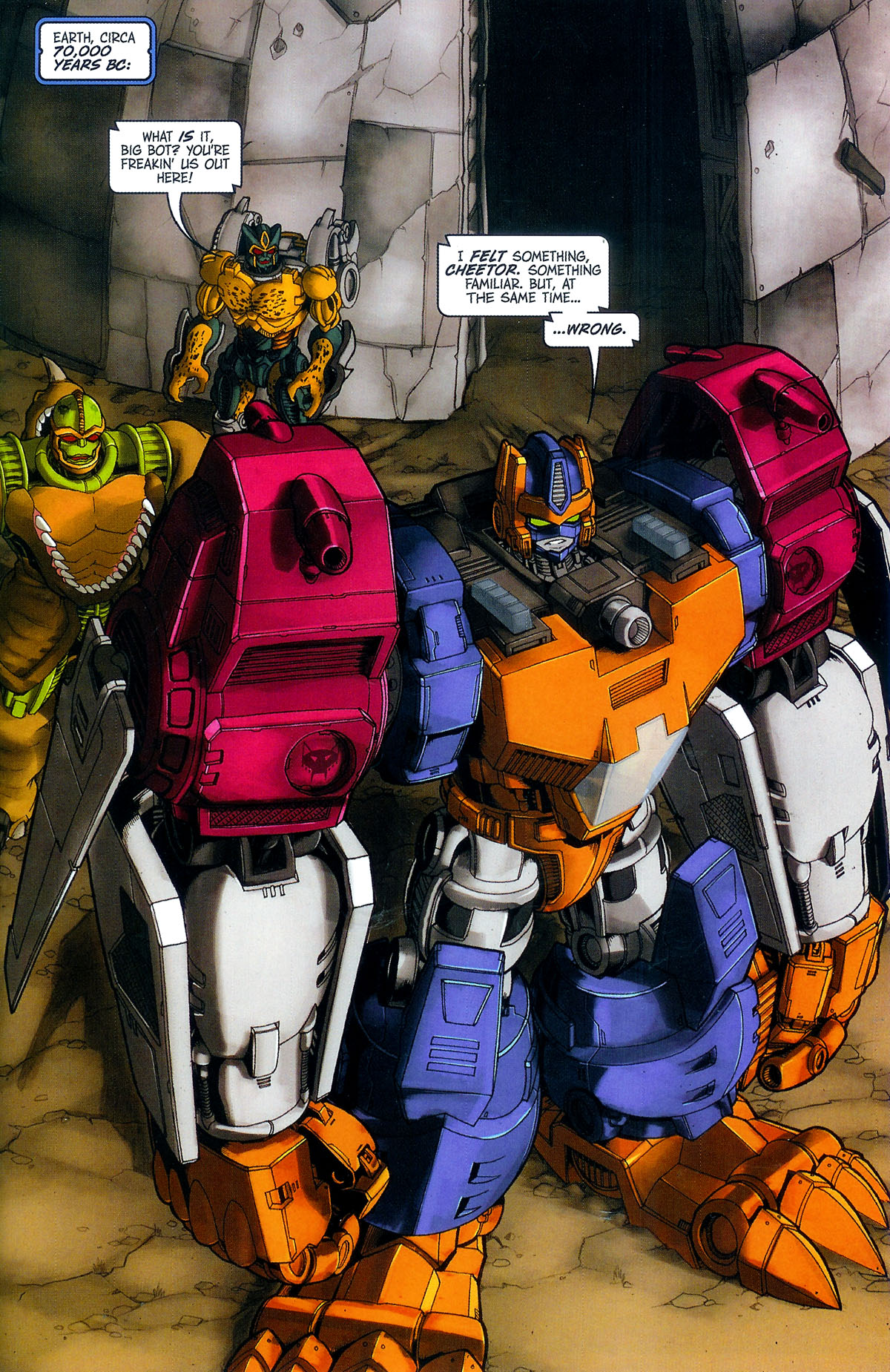 Read online Transformers, Beast Wars: The Gathering comic -  Issue #3 - 6