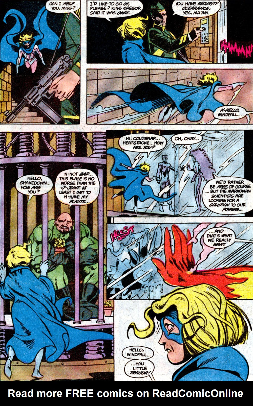 Read online Adventures of the Outsiders comic -  Issue #36 - 8