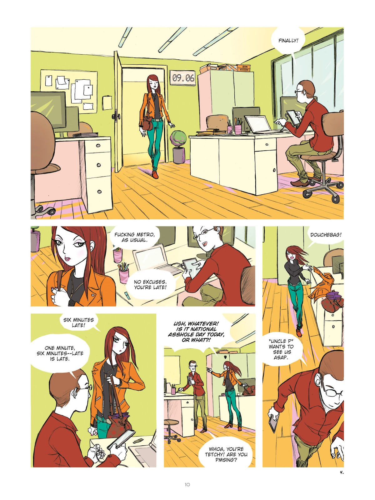 Read online Diary of A Femen comic -  Issue # TPB - 12