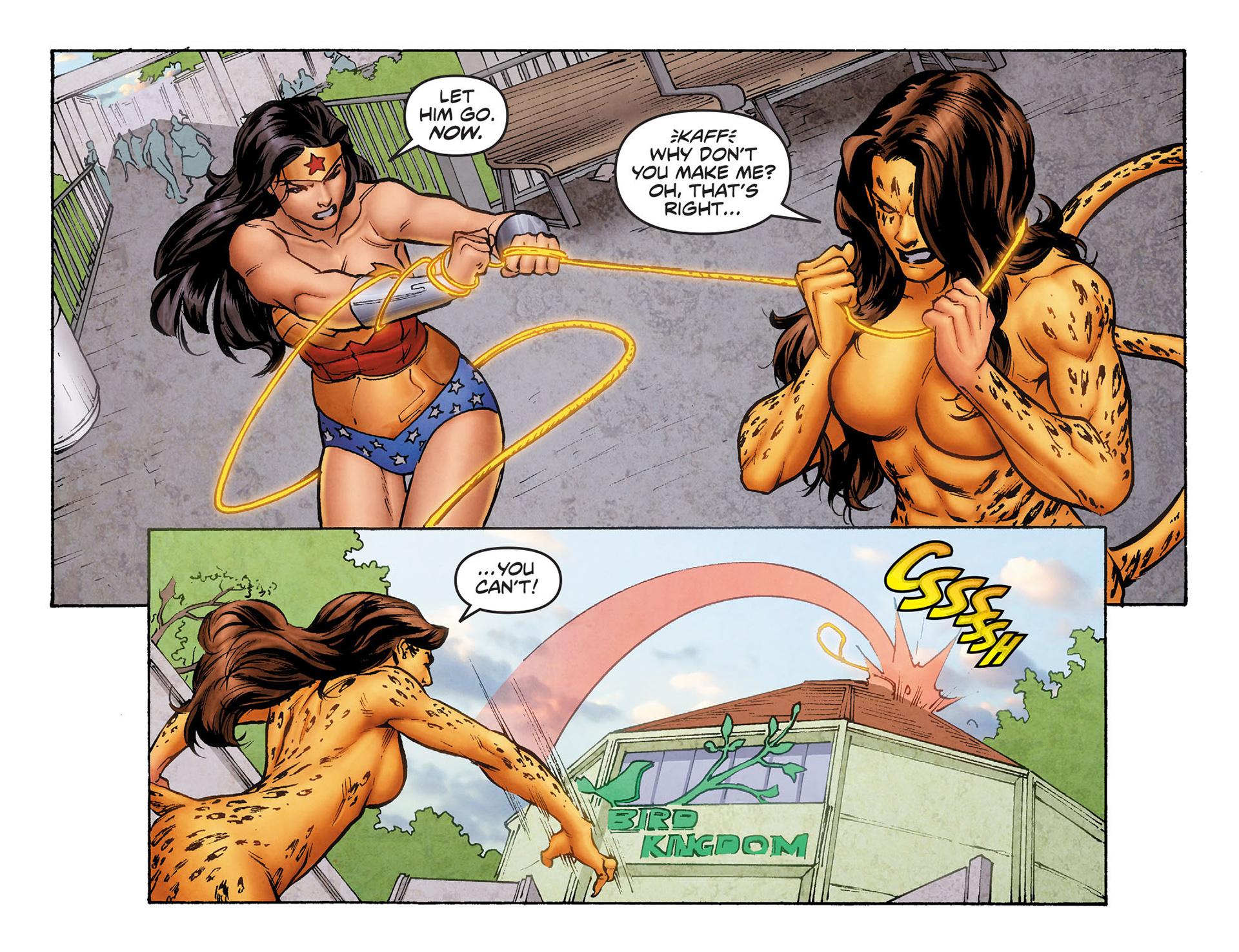 Read online Sensation Comics Featuring Wonder Woman comic -  Issue #6 - 11