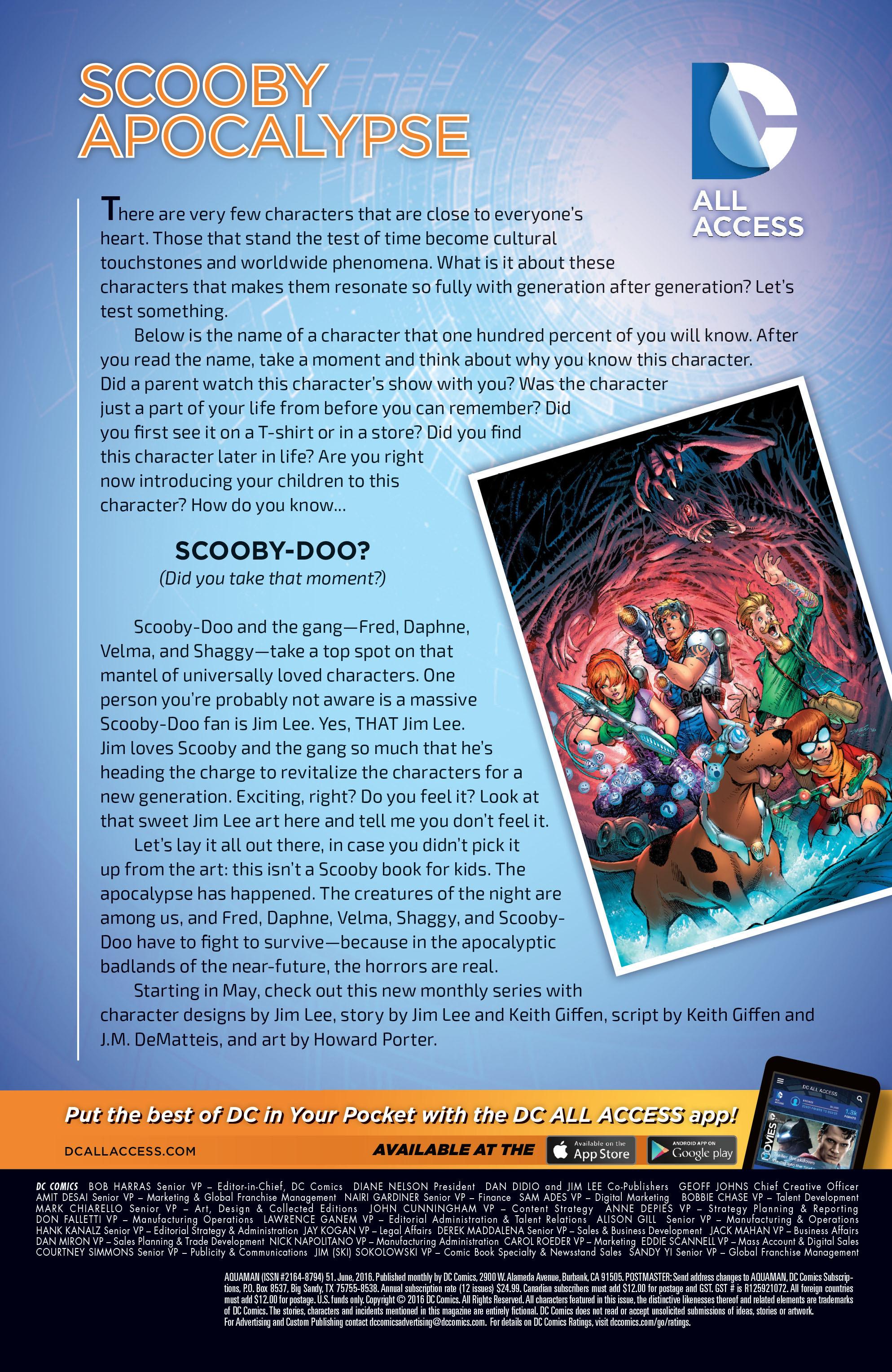 Read online Aquaman (2011) comic -  Issue #51 - 25