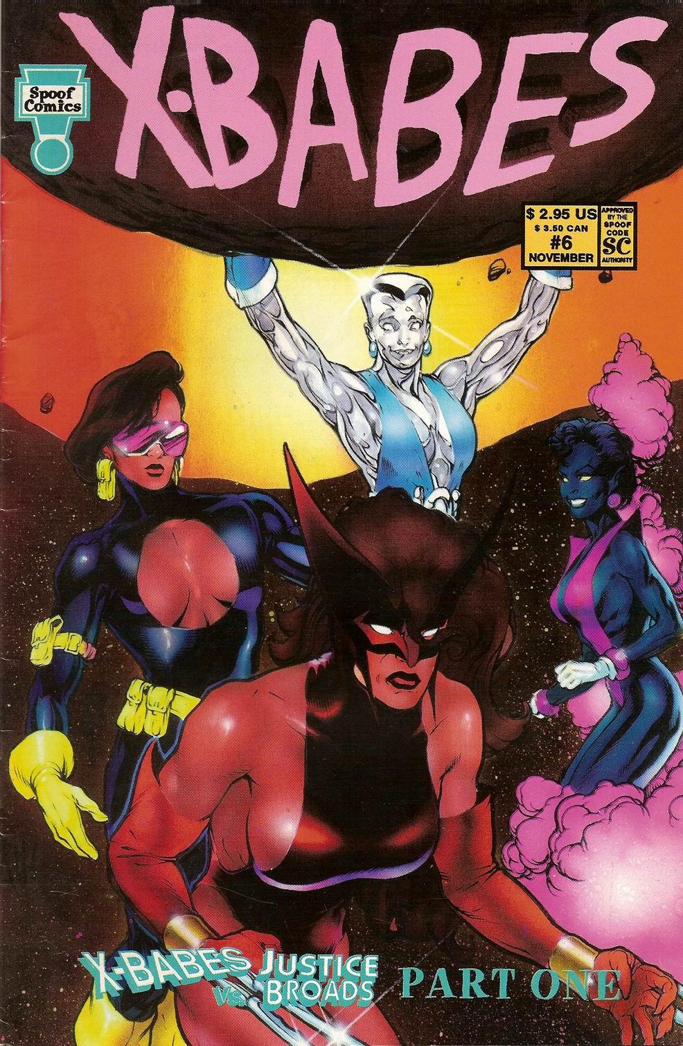 Spoof Comics 6 Page 1