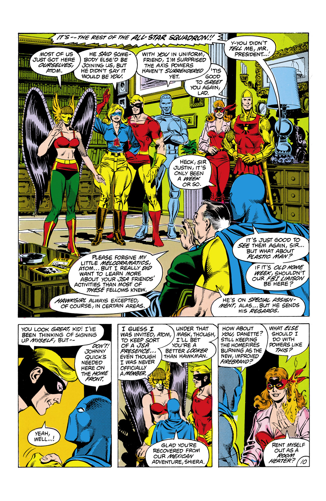 Read online All-Star Squadron comic -  Issue #7 - 11