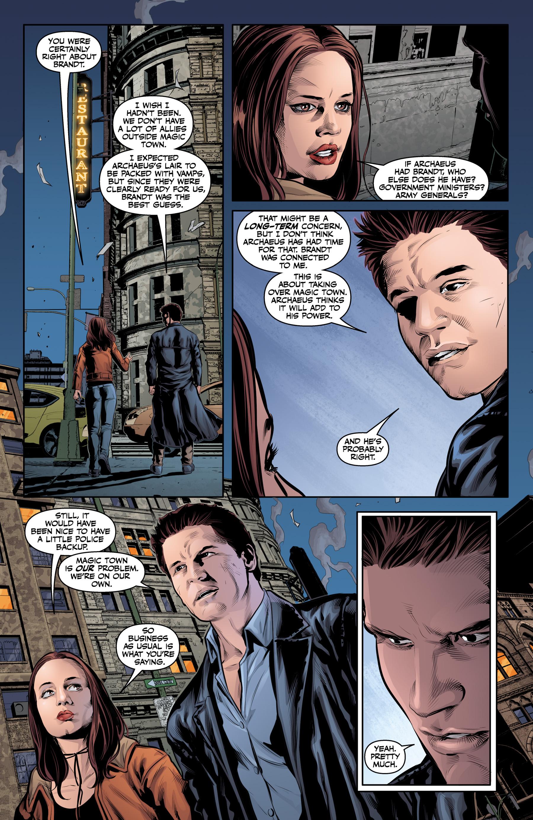 Read online Angel & Faith Season 10 comic -  Issue #23 - 17