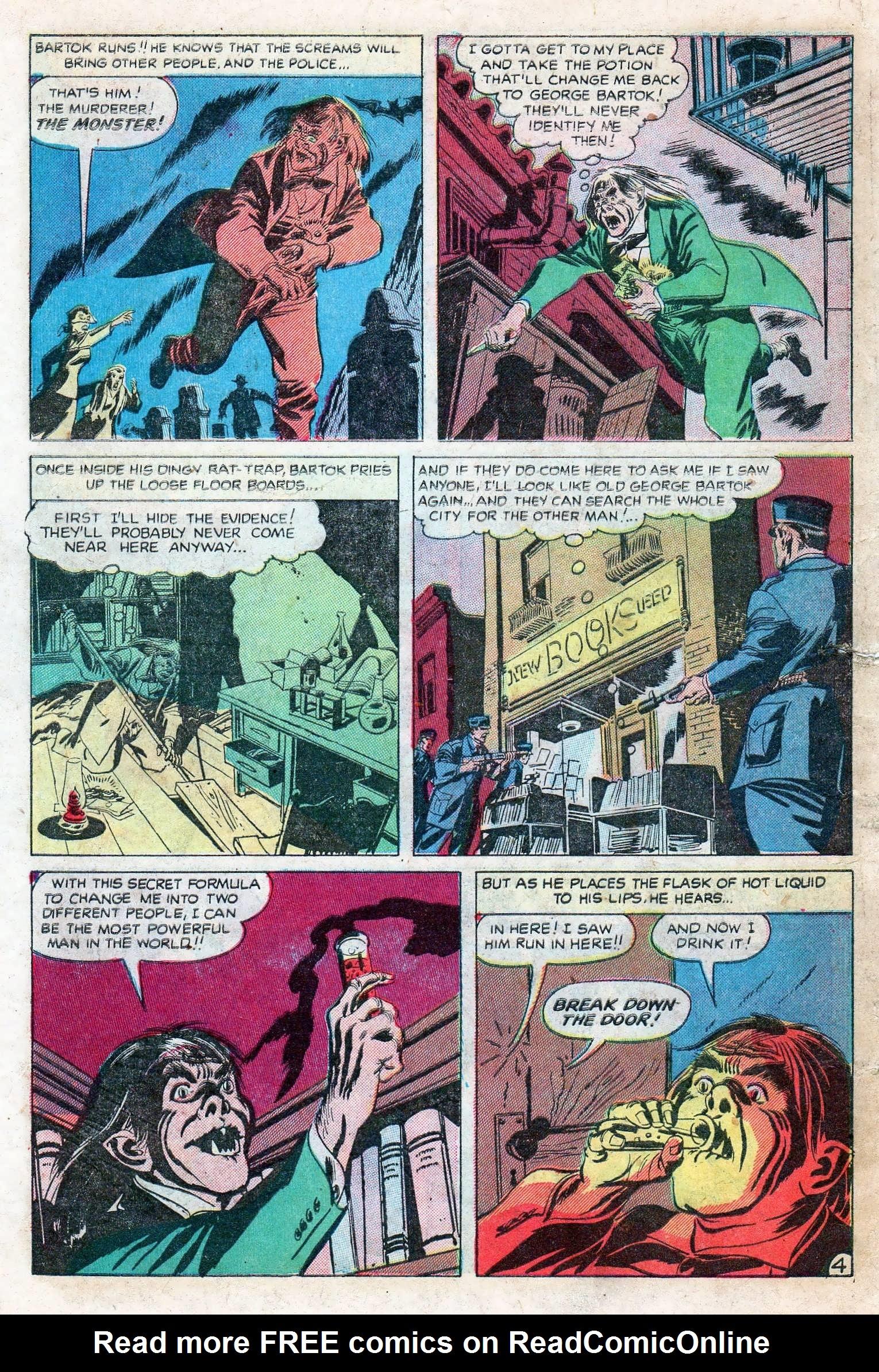Read online Adventures into Weird Worlds comic -  Issue #11 - 6