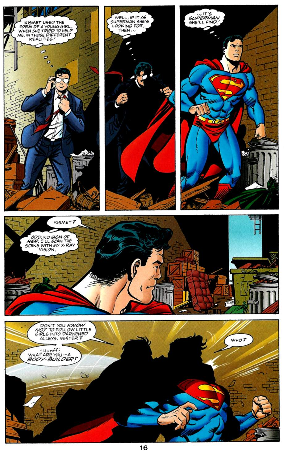 Read online Adventures of Superman (1987) comic -  Issue #561 - 17