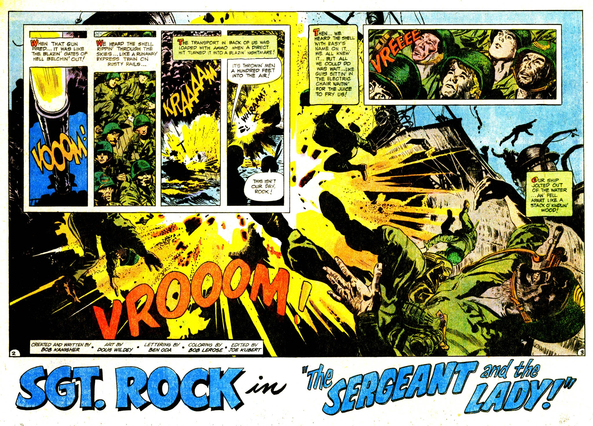 Read online Sgt. Rock comic -  Issue #311 - 4