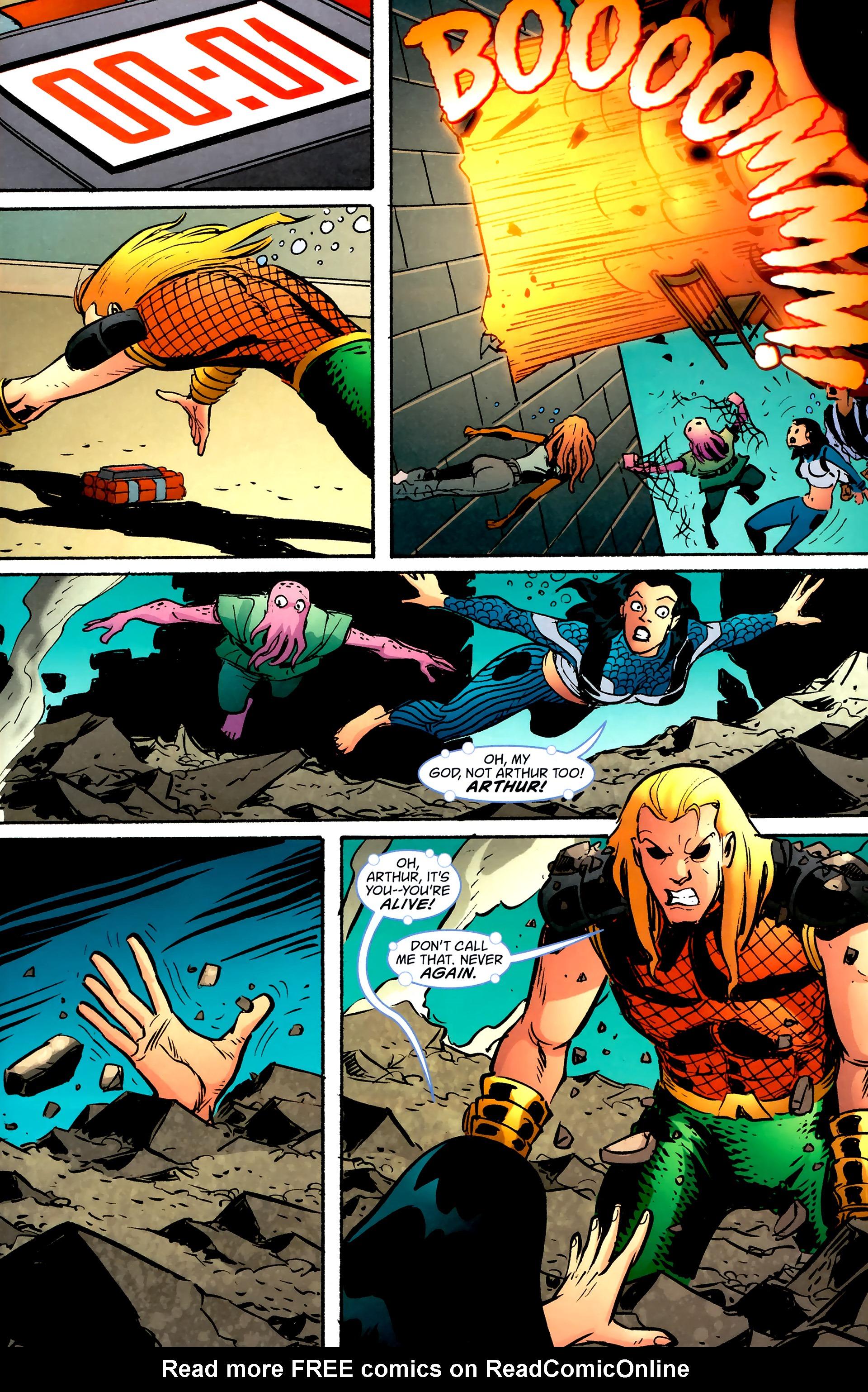 Read online Aquaman: Sword of Atlantis comic -  Issue #57 - 20