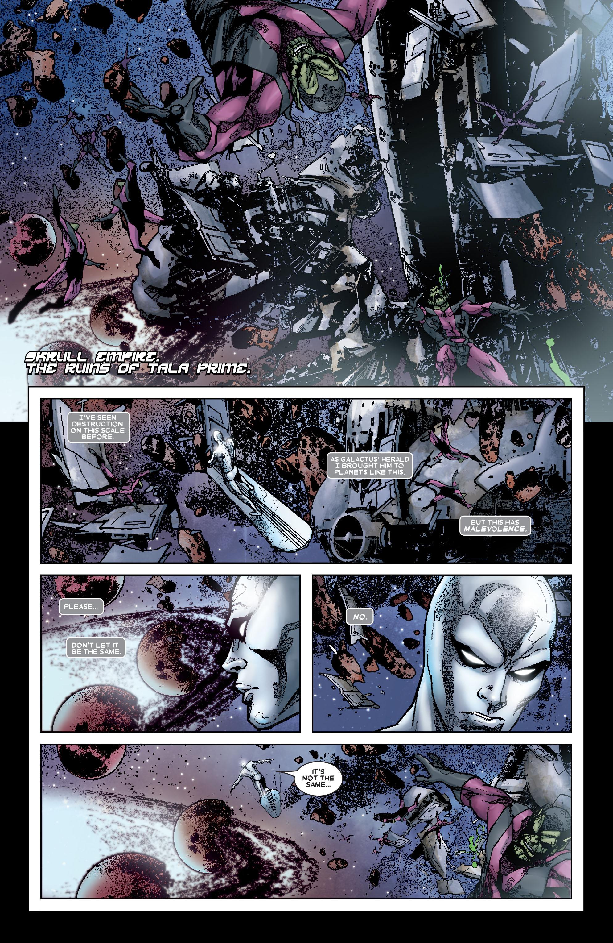 Read online Annihilation: Silver Surfer comic -  Issue #1 - 19