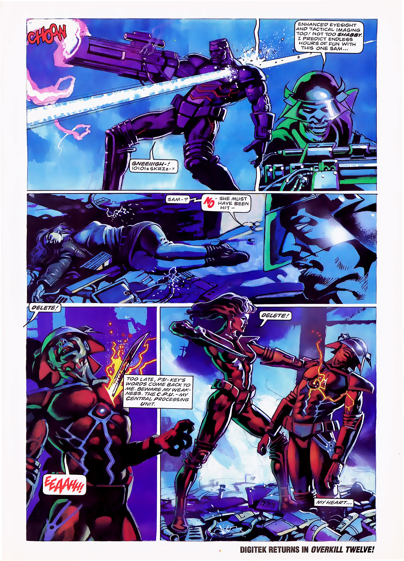 Read online Overkill comic -  Issue #7 - 27