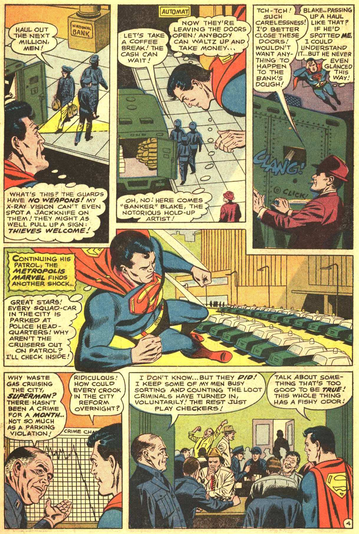 Read online Action Comics (1938) comic -  Issue #368 - 5