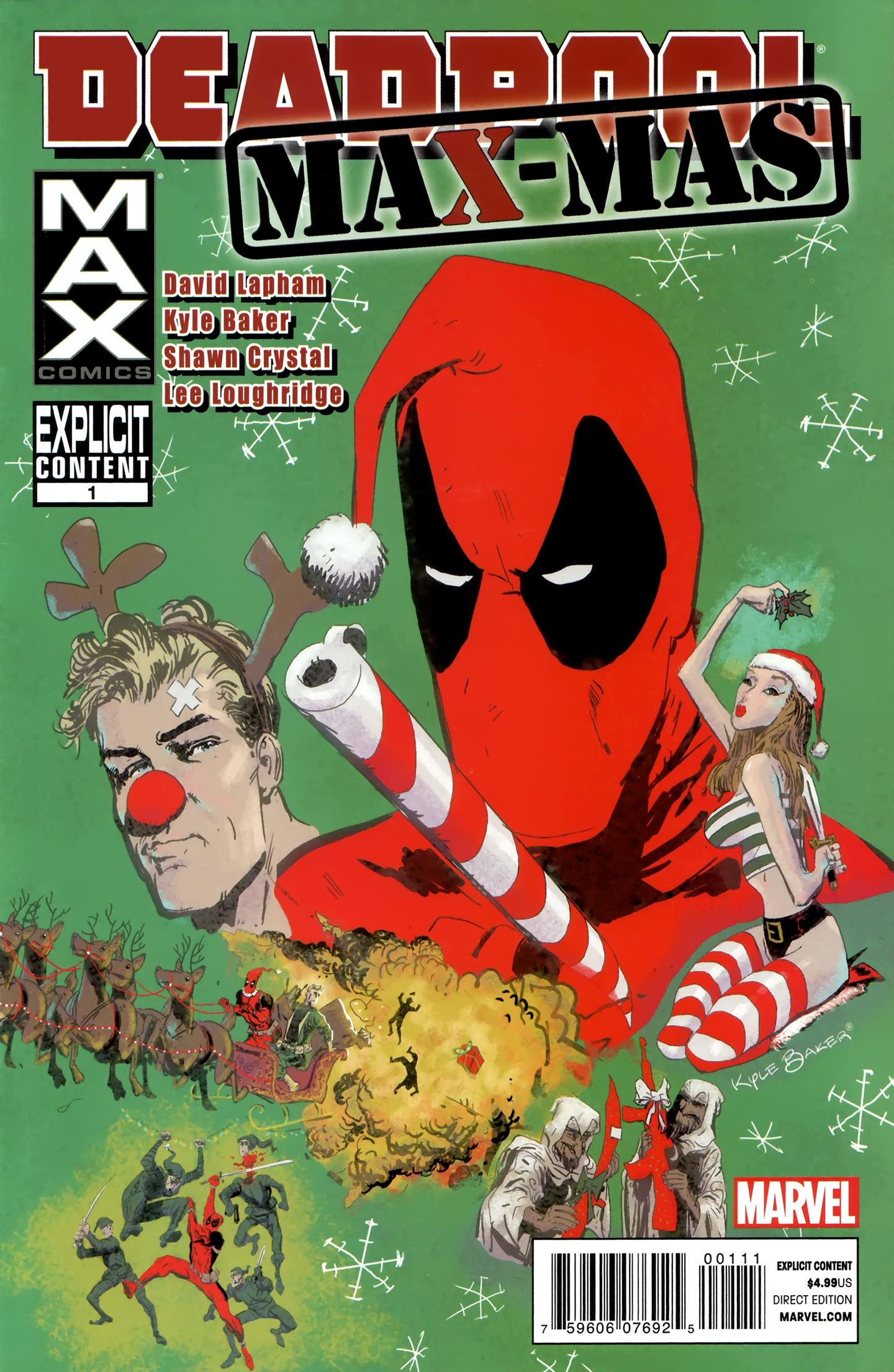 Read online Deadpool MAX X-Mas Special comic -  Issue # Full - 1