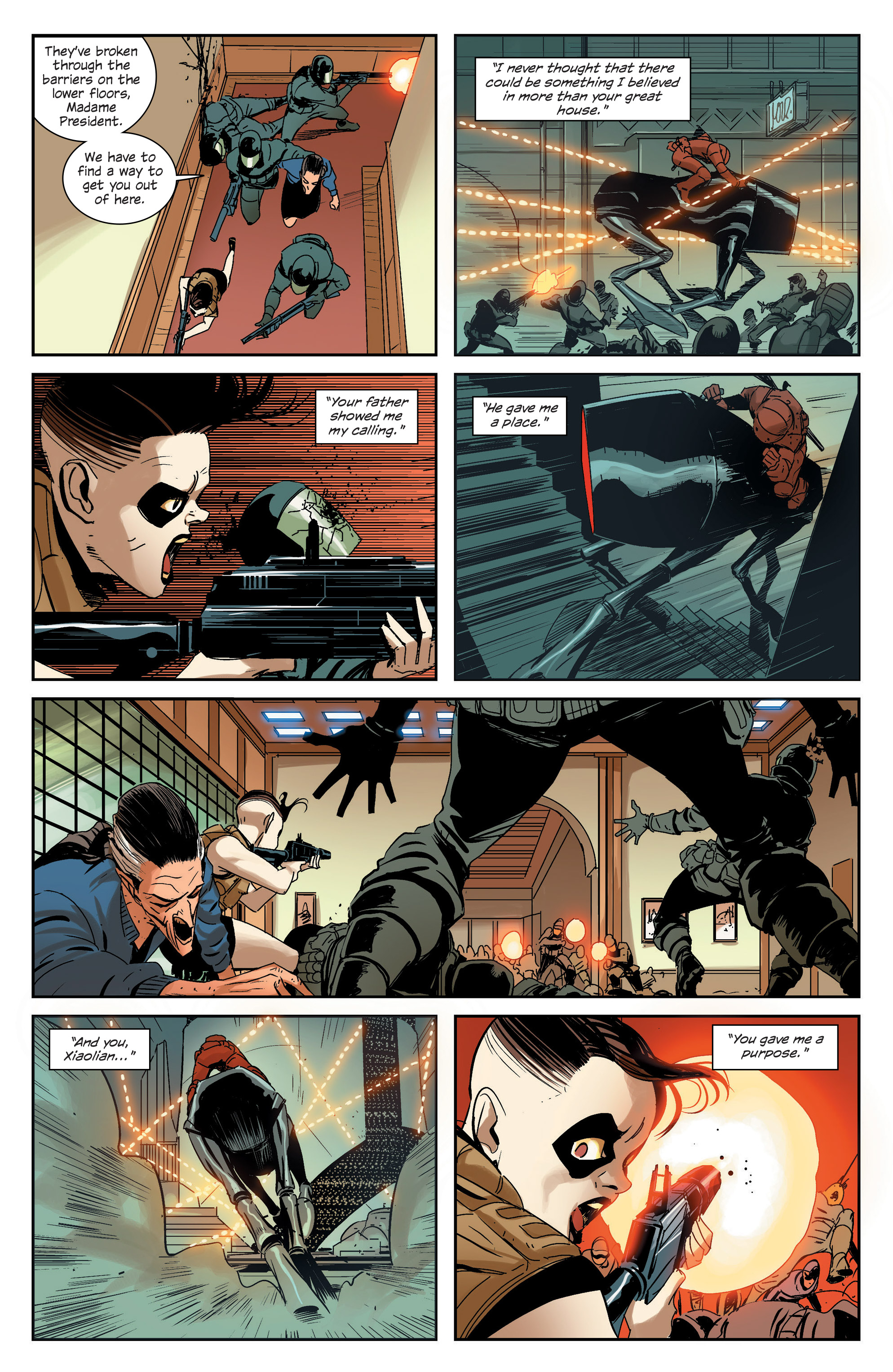 Read online East Of West comic -  Issue #33 - 18