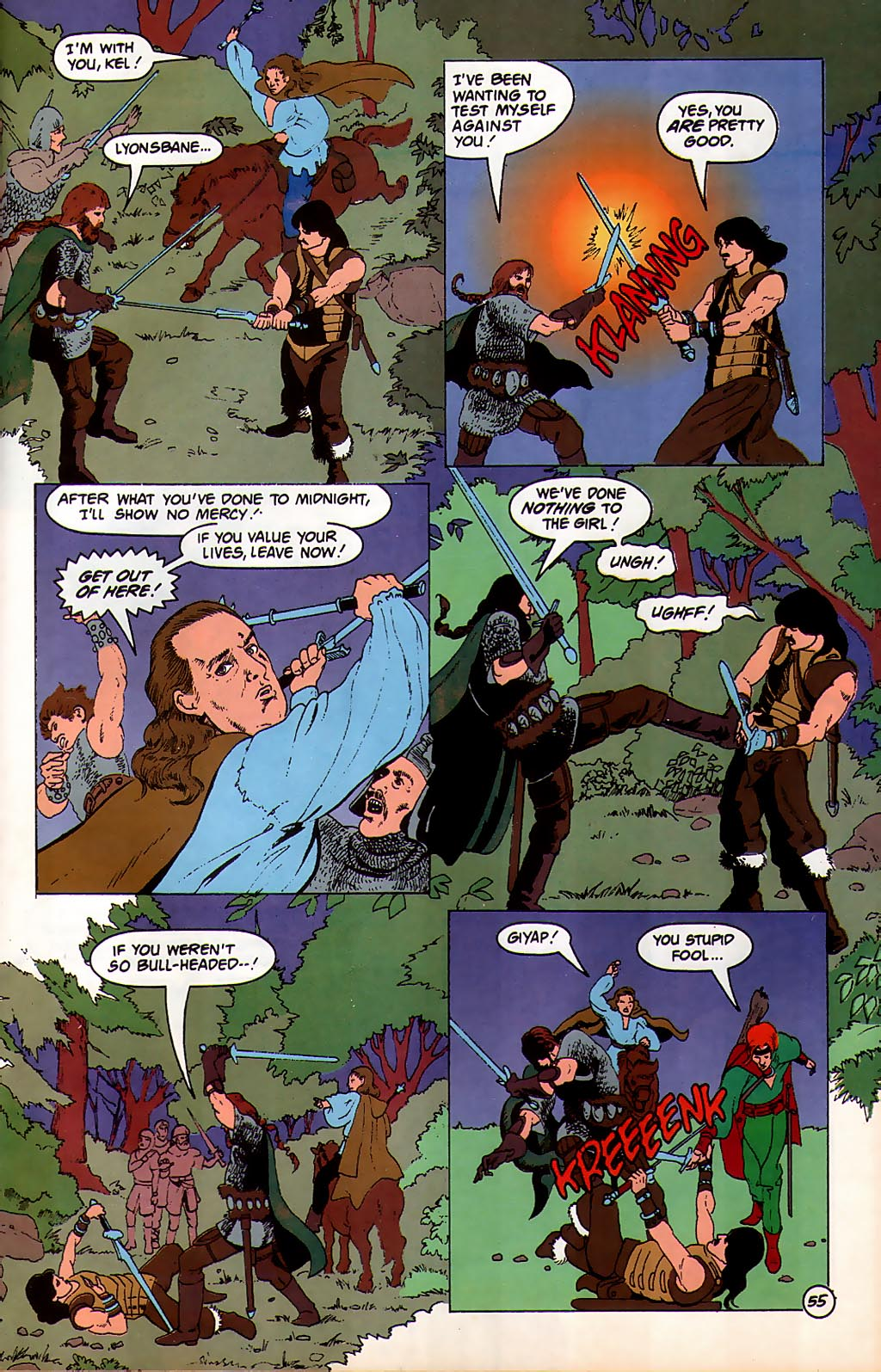 Read online Avatar comic -  Issue #3 - 56