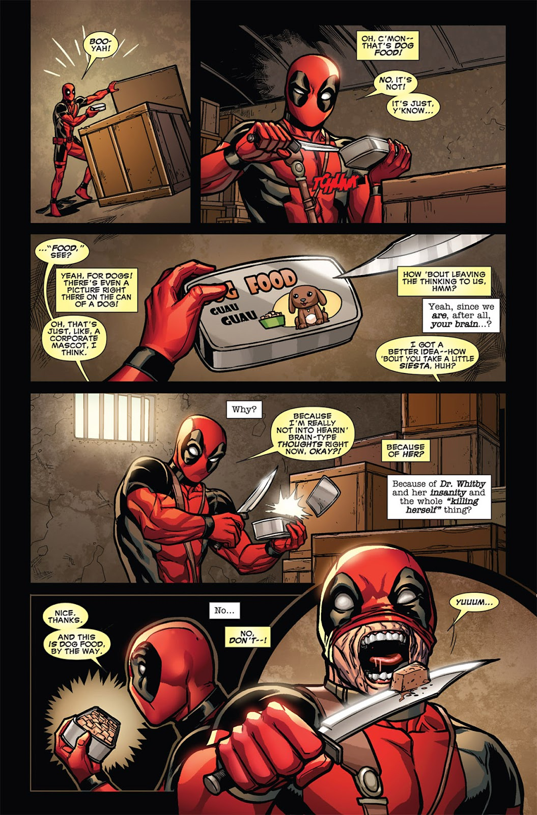 Read online Deadpool (2008) comic -  Issue #45 - 6