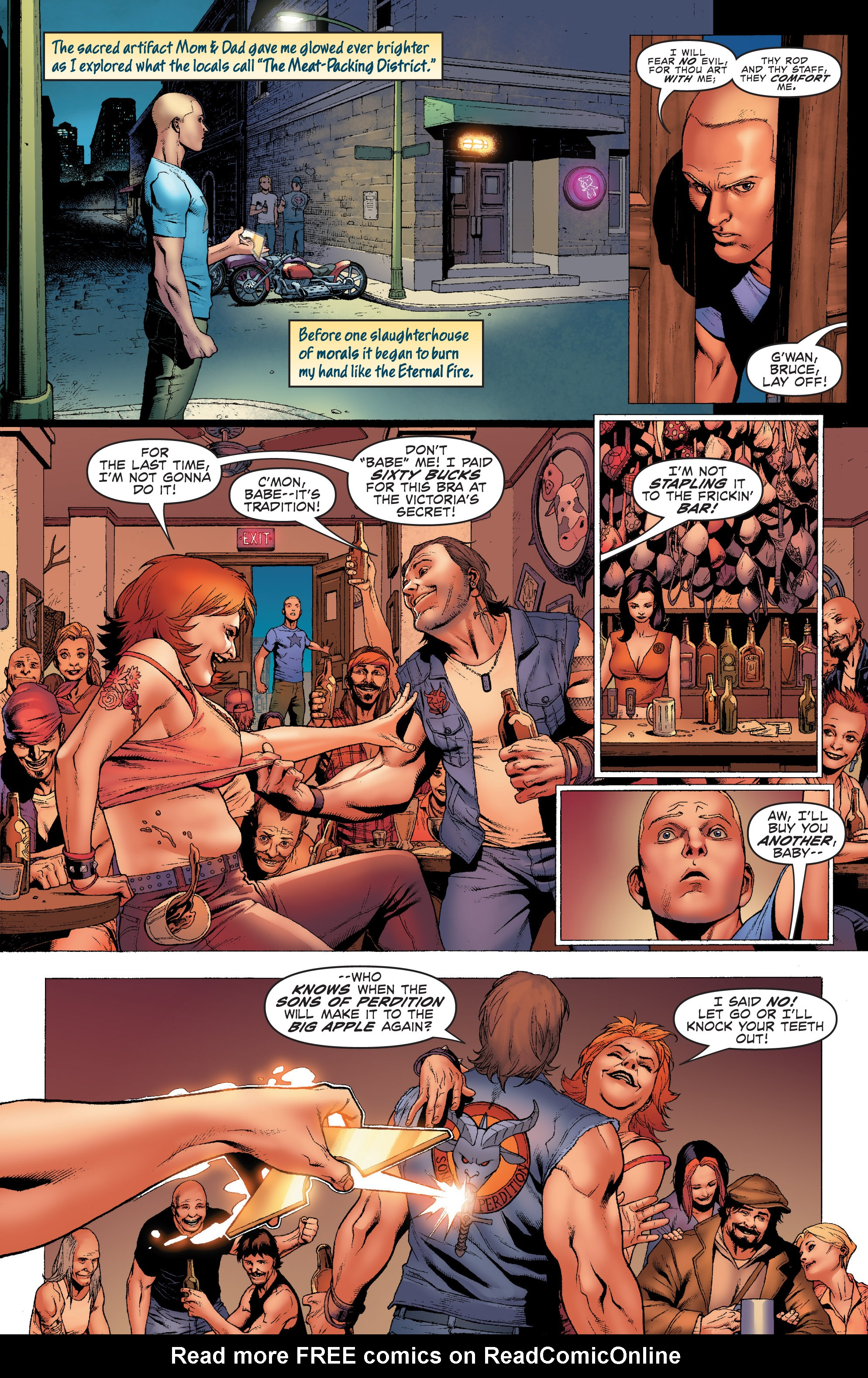 Read online Archer and Armstrong comic -  Issue #Archer and Armstrong _TPB 1 - 20