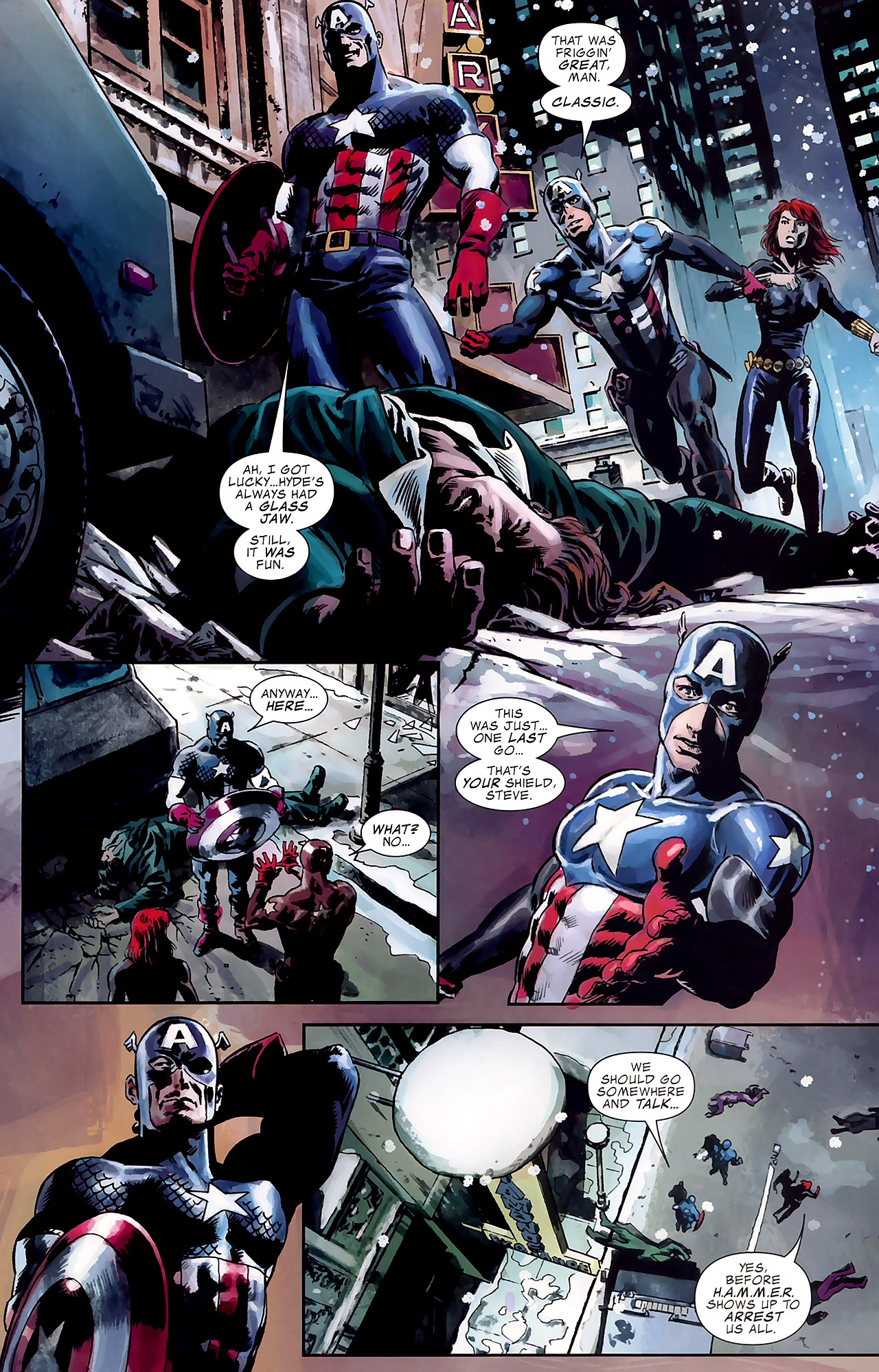 Read online Captain America Reborn: Who Will Wield the Shield? comic -  Issue # Full - 21