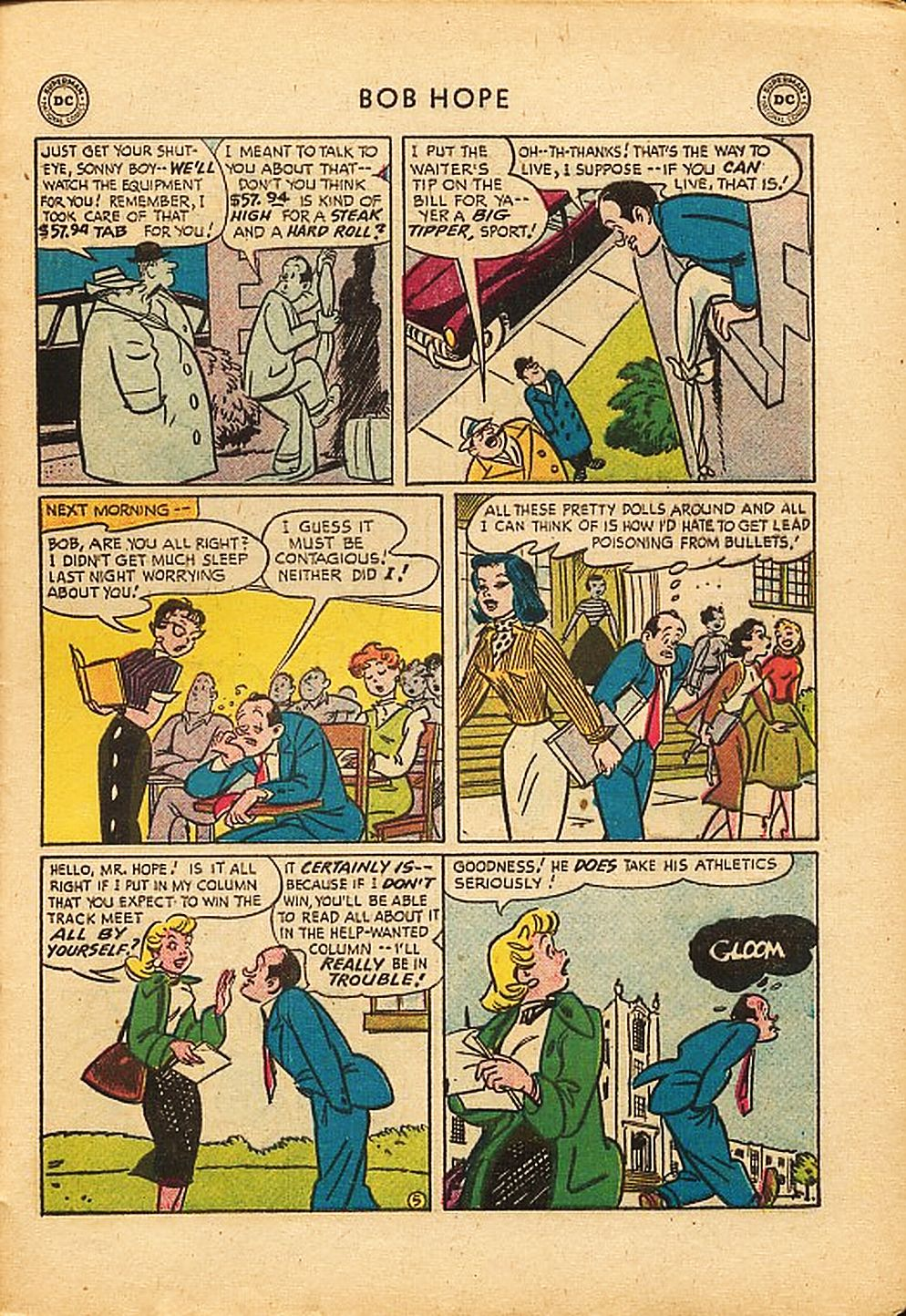 The Adventures of Bob Hope issue 42 - Page 29