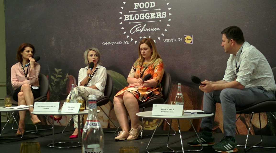 Food Bloggers Conference – summer 2017, prima sesiune