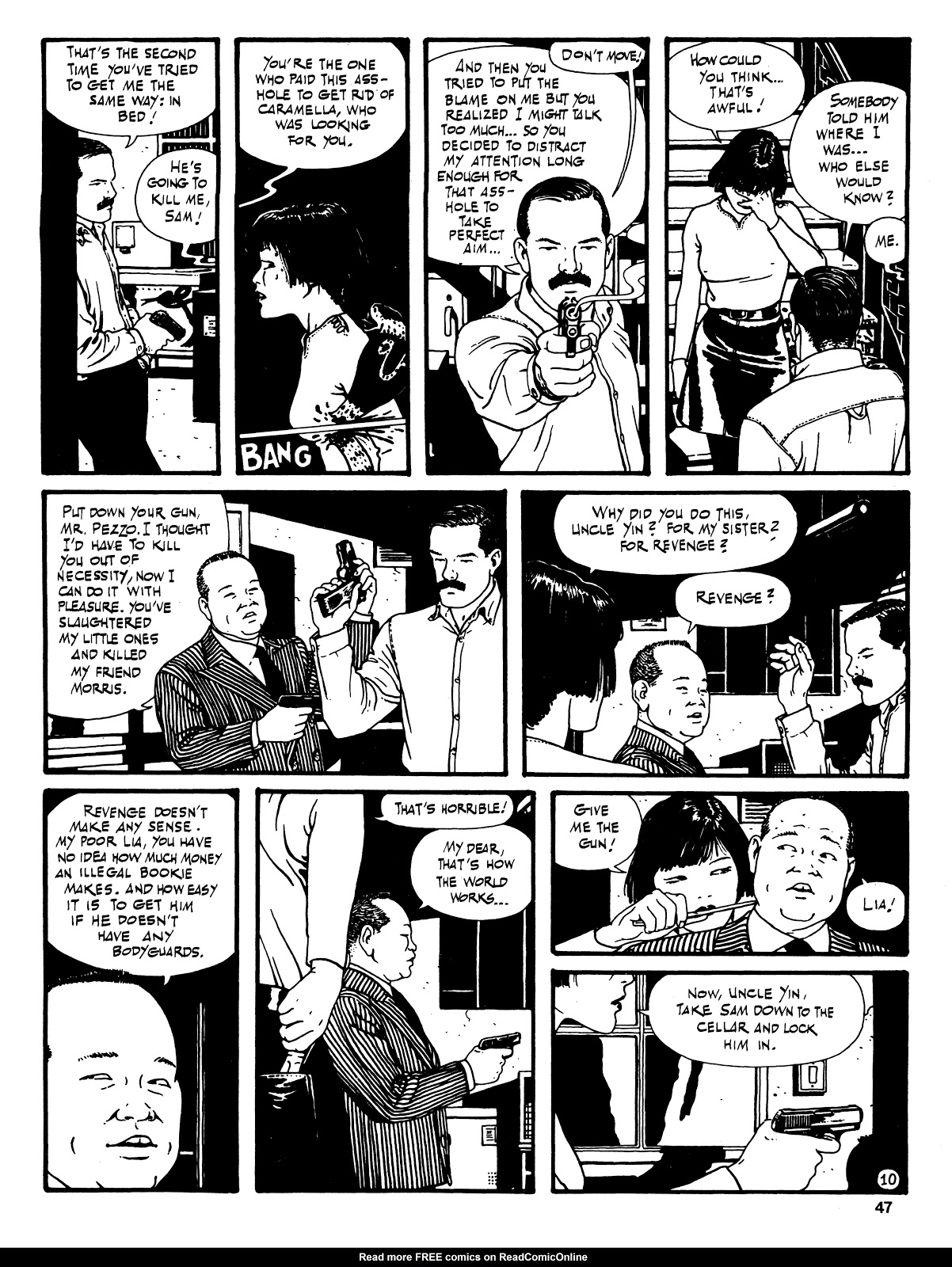 Read online Cases from the Files of Sam Pezzo, P.I. comic -  Issue # Full - 48