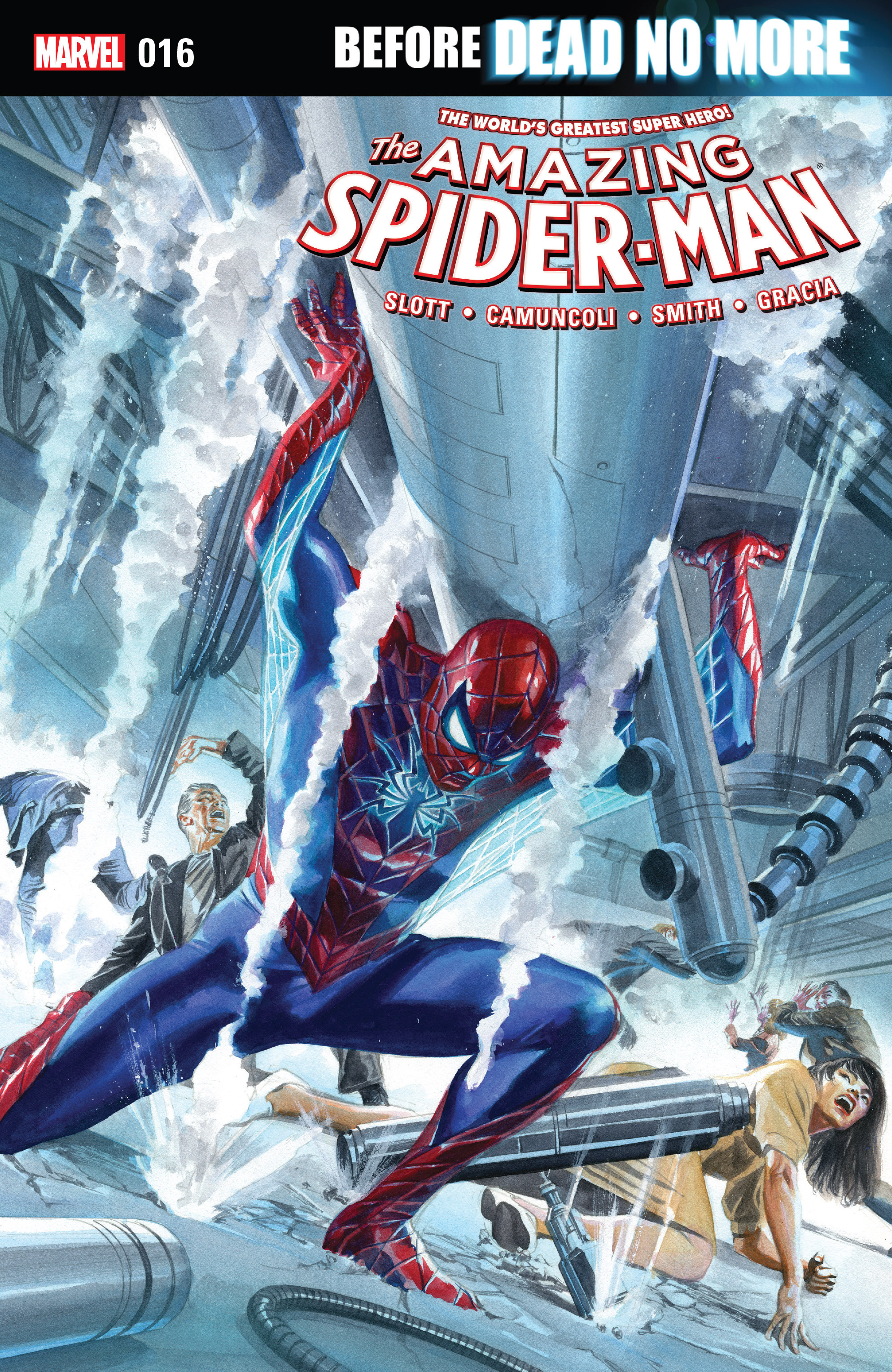 The Amazing Spider-Man (2015) 16 Page 1