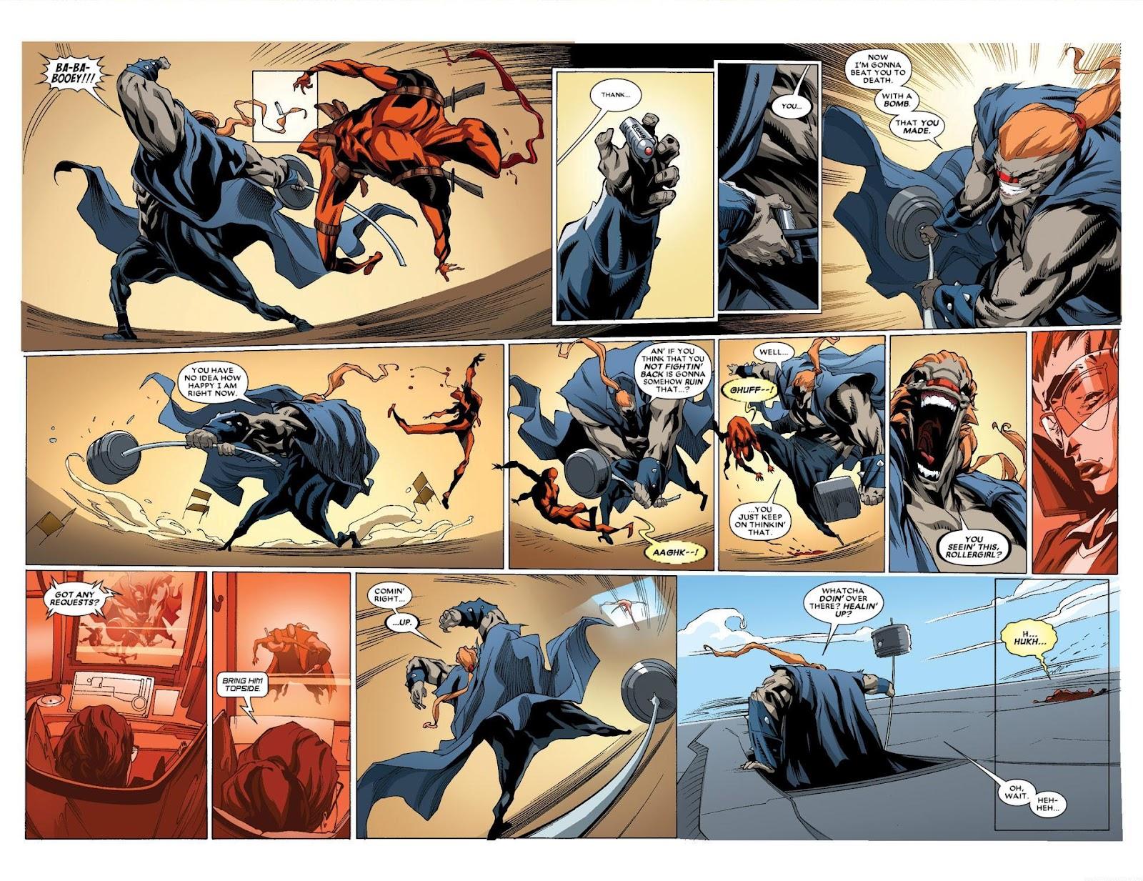 Read online Deadpool (2008) comic -  Issue #63 - 12