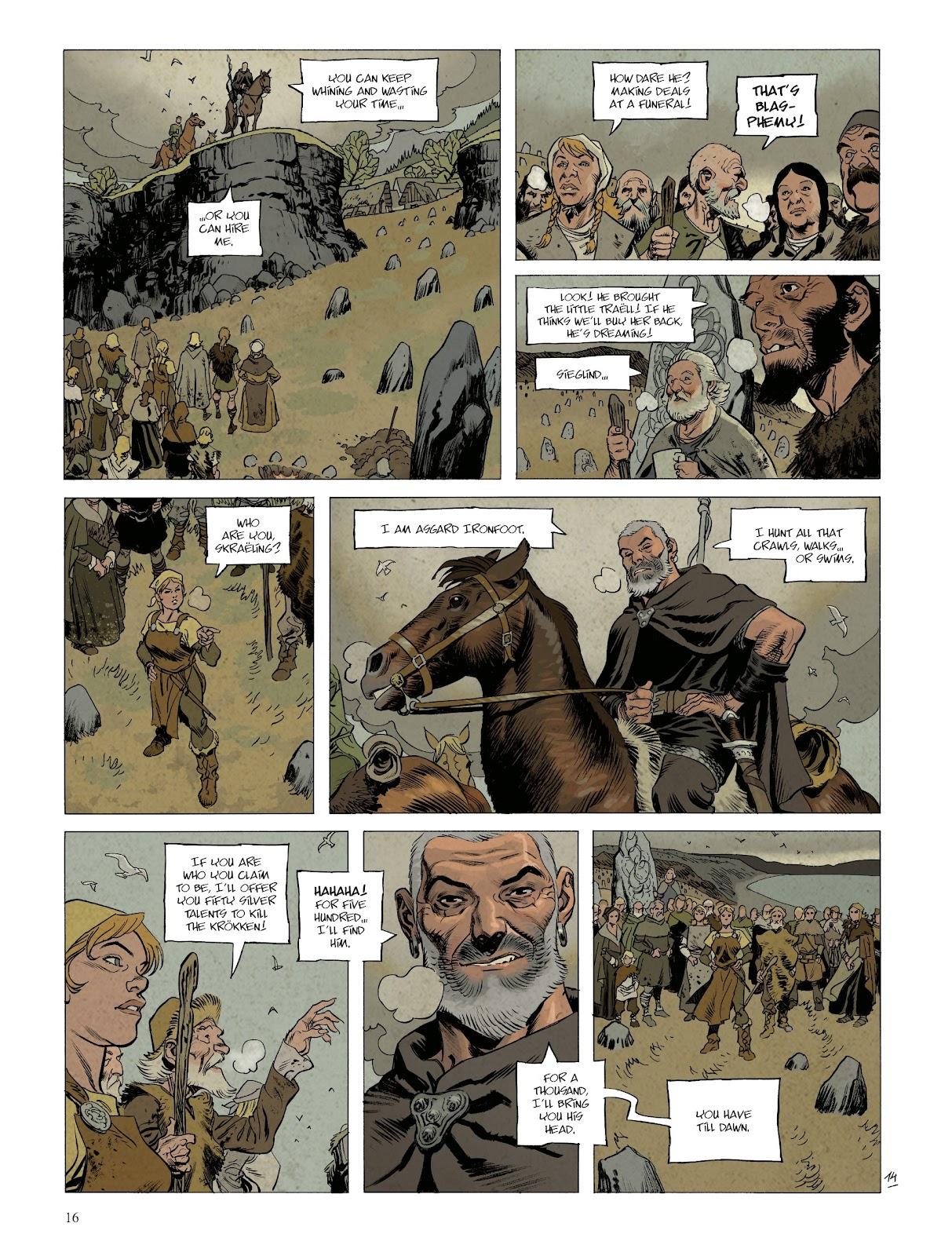 Read online Asgard comic -  Issue #1 - 18