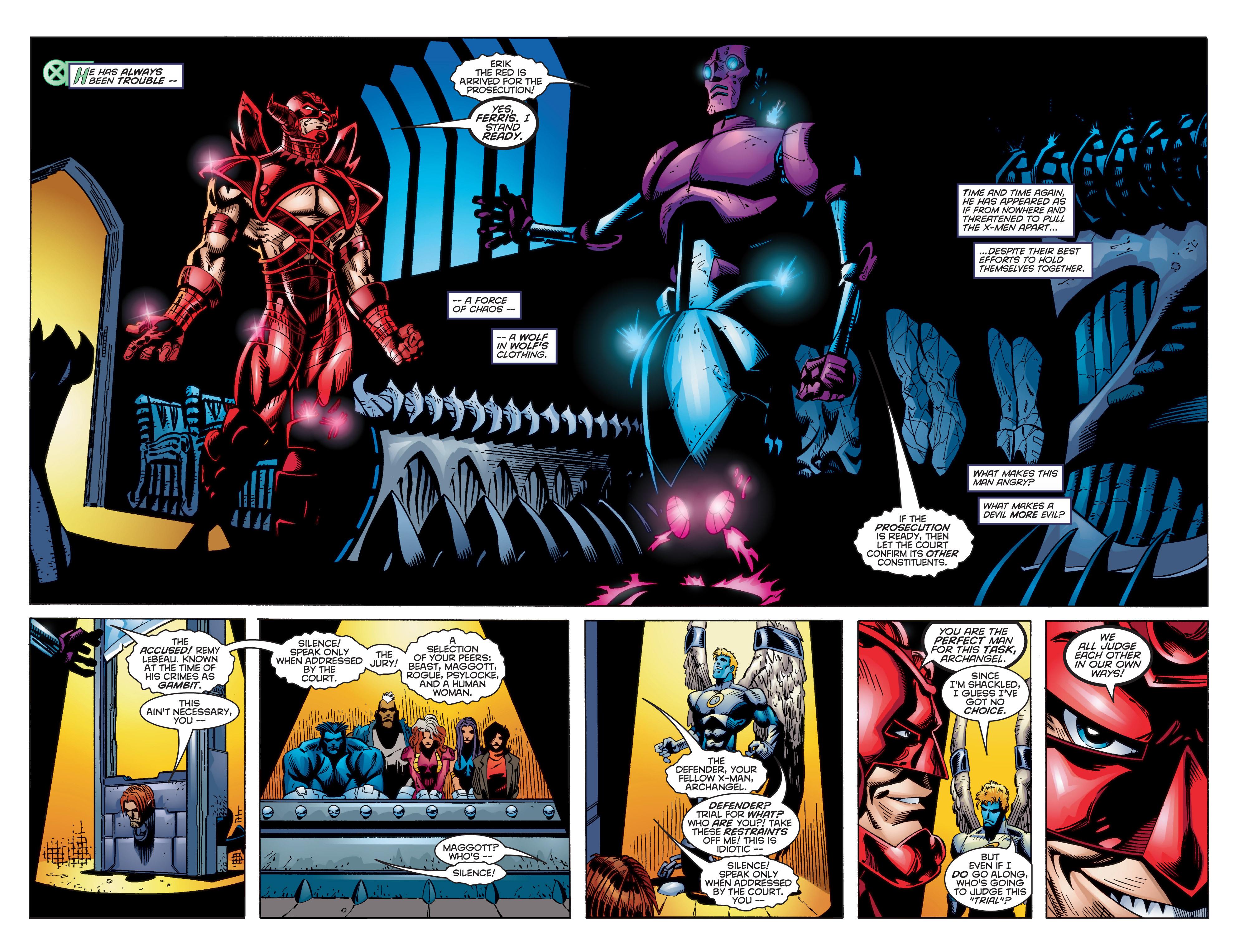 Read online Uncanny X-Men (1963) comic -  Issue #350 - 25