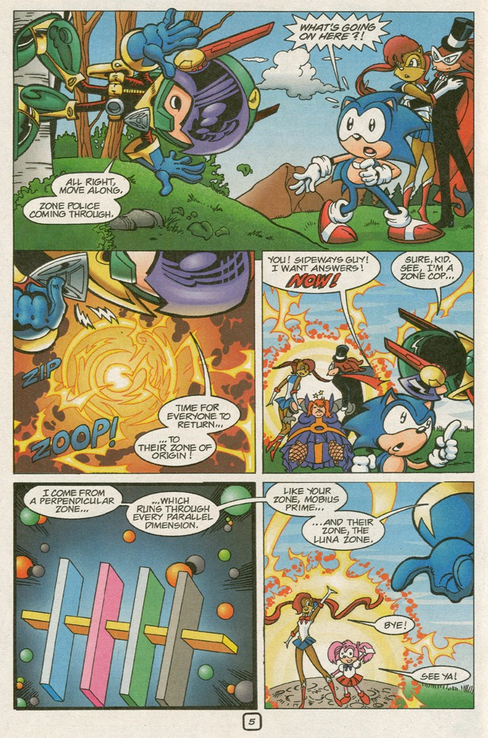 Read online Sonic Super Special comic -  Issue #8 - Giant special - 8