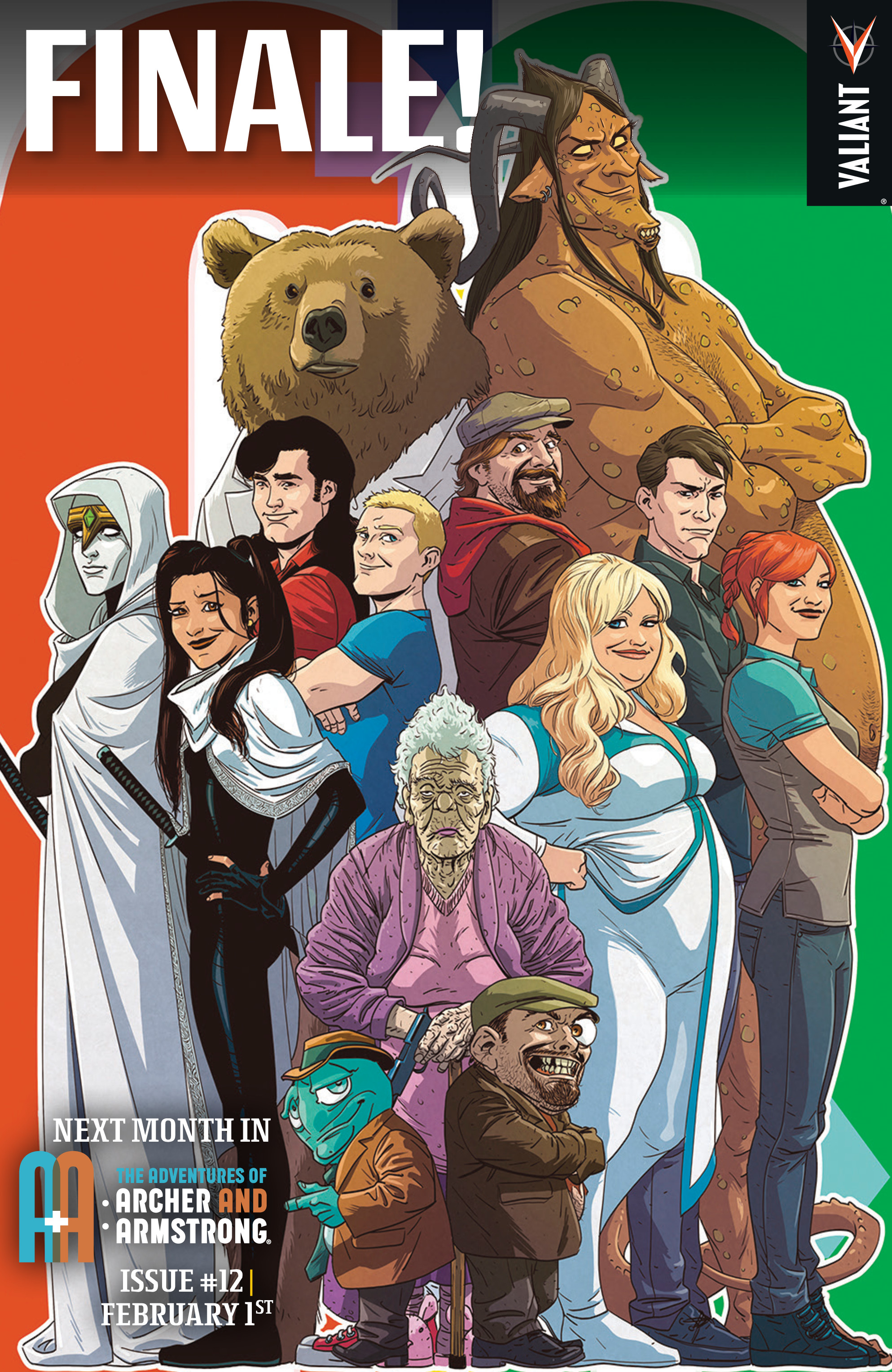 Read online A&A: The Adventures of Archer & Armstrong comic -  Issue #11 - 26