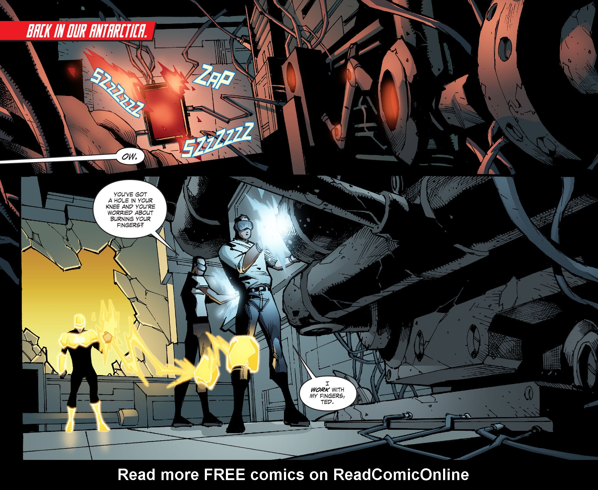 Read online Smallville: Chaos [II] comic -  Issue #6 - 3