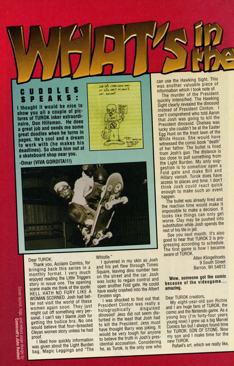 Read online Turok comic -  Issue #3 - 25
