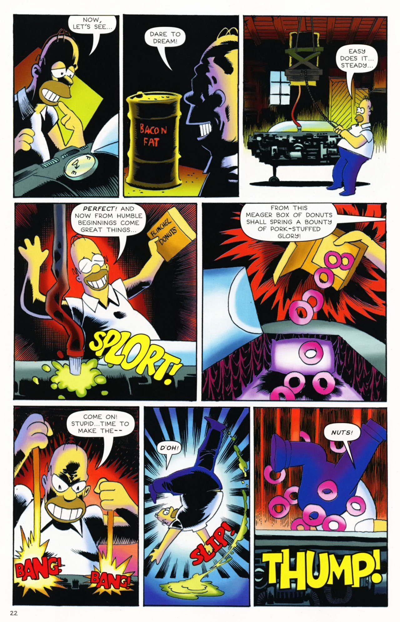 Read online Treehouse of Horror comic -  Issue #16 - 25