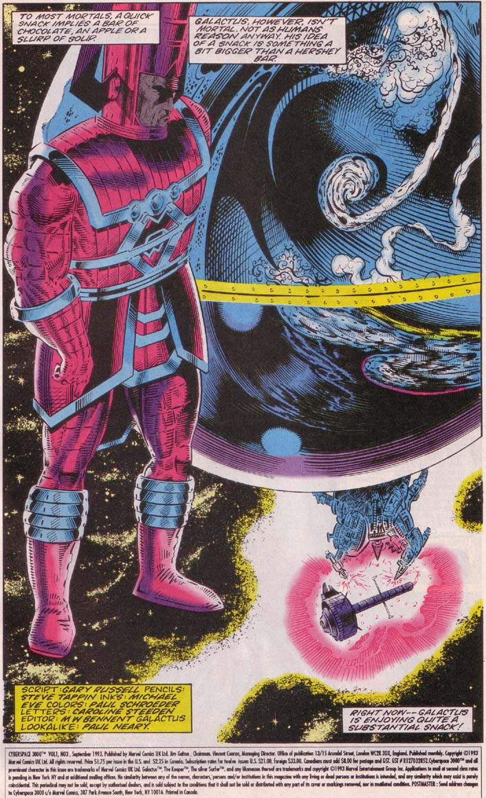 Read online Cyberspace 3000 comic -  Issue #3 - 2