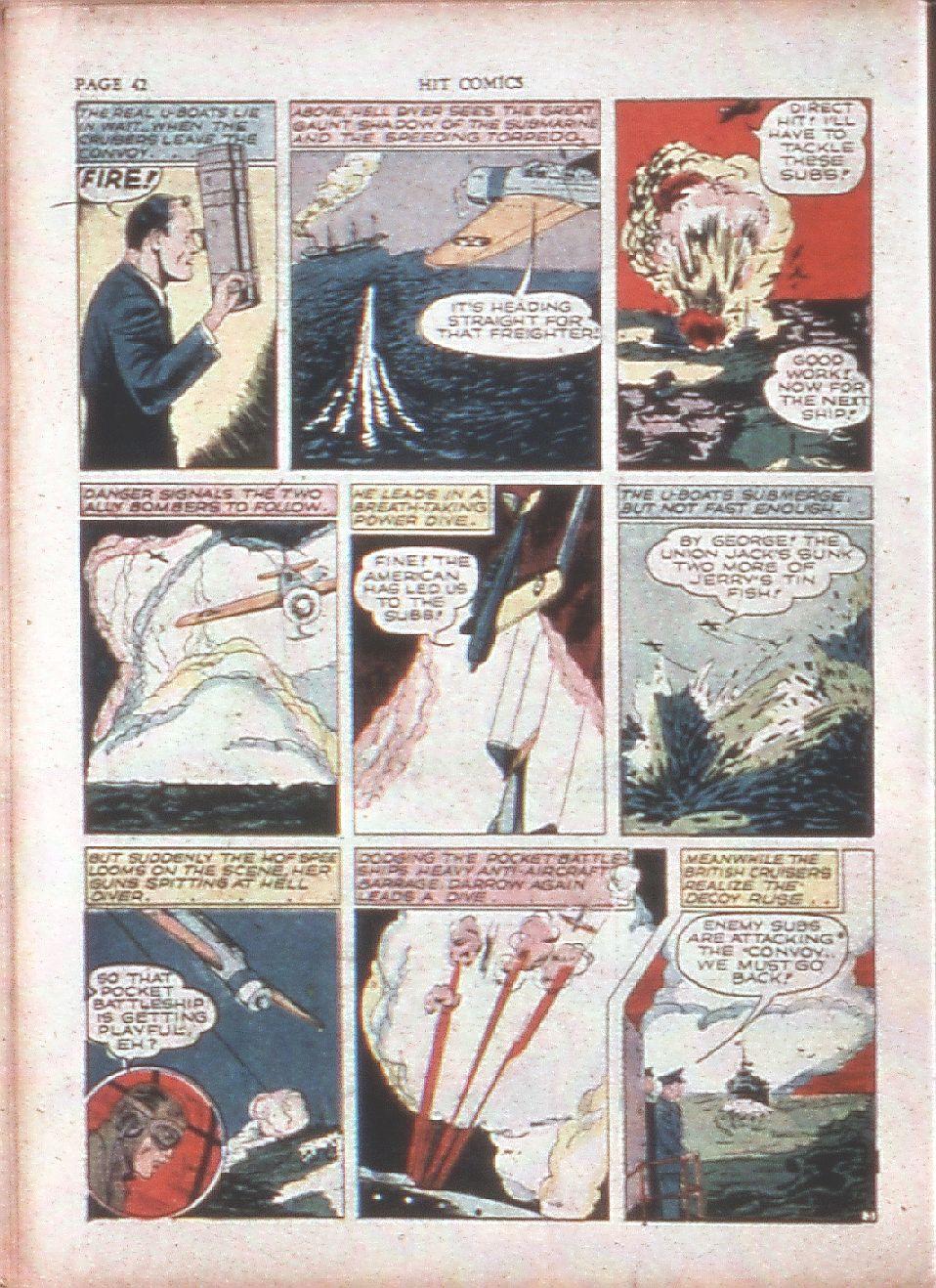 Read online Hit Comics comic -  Issue #15 - 44
