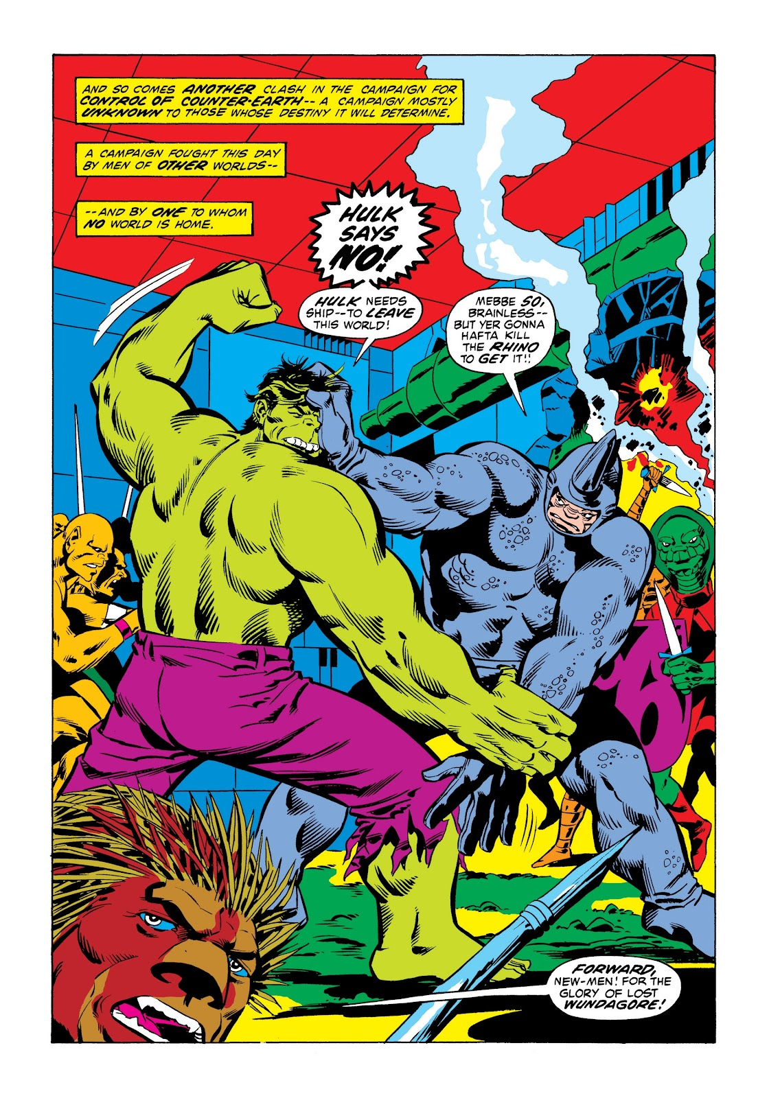 Read online Marvel Masterworks: The Incredible Hulk comic -  Issue # TPB 9 (Part 1) - 44