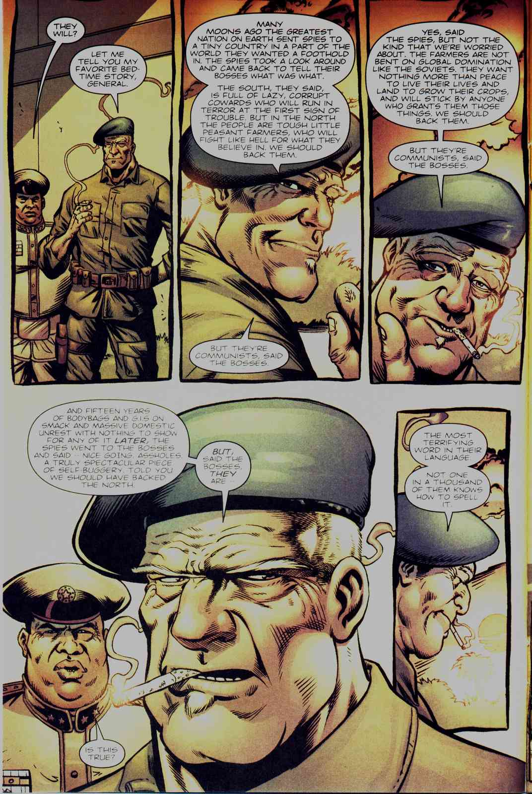 Read online Fury comic -  Issue #3 - 5