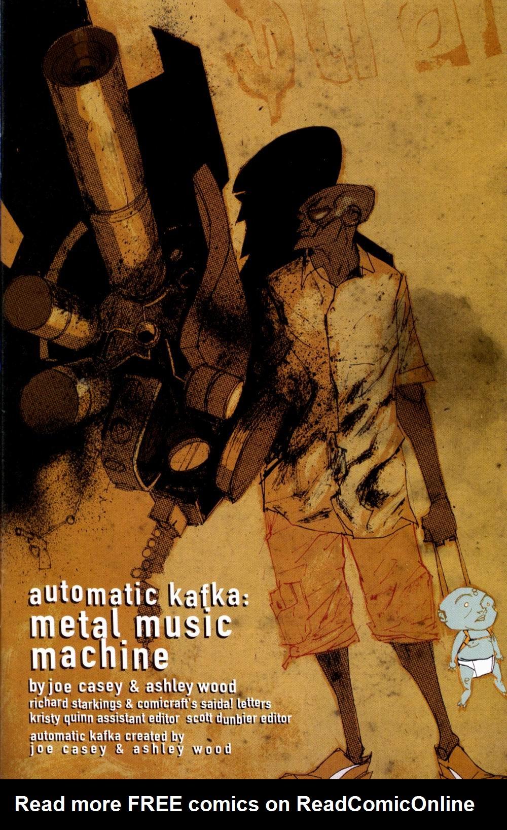 Read online Automatic Kafka comic -  Issue #1 - 3