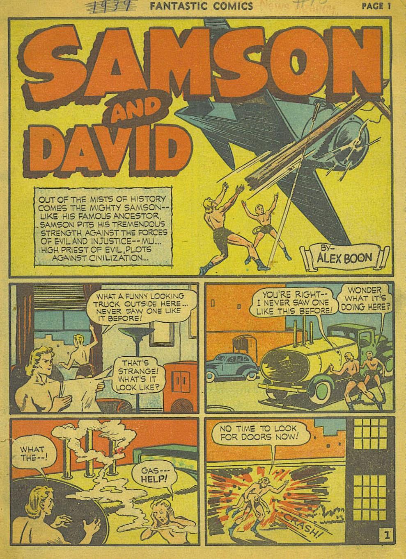 Read online Fantastic Comics comic -  Issue #15 - 2