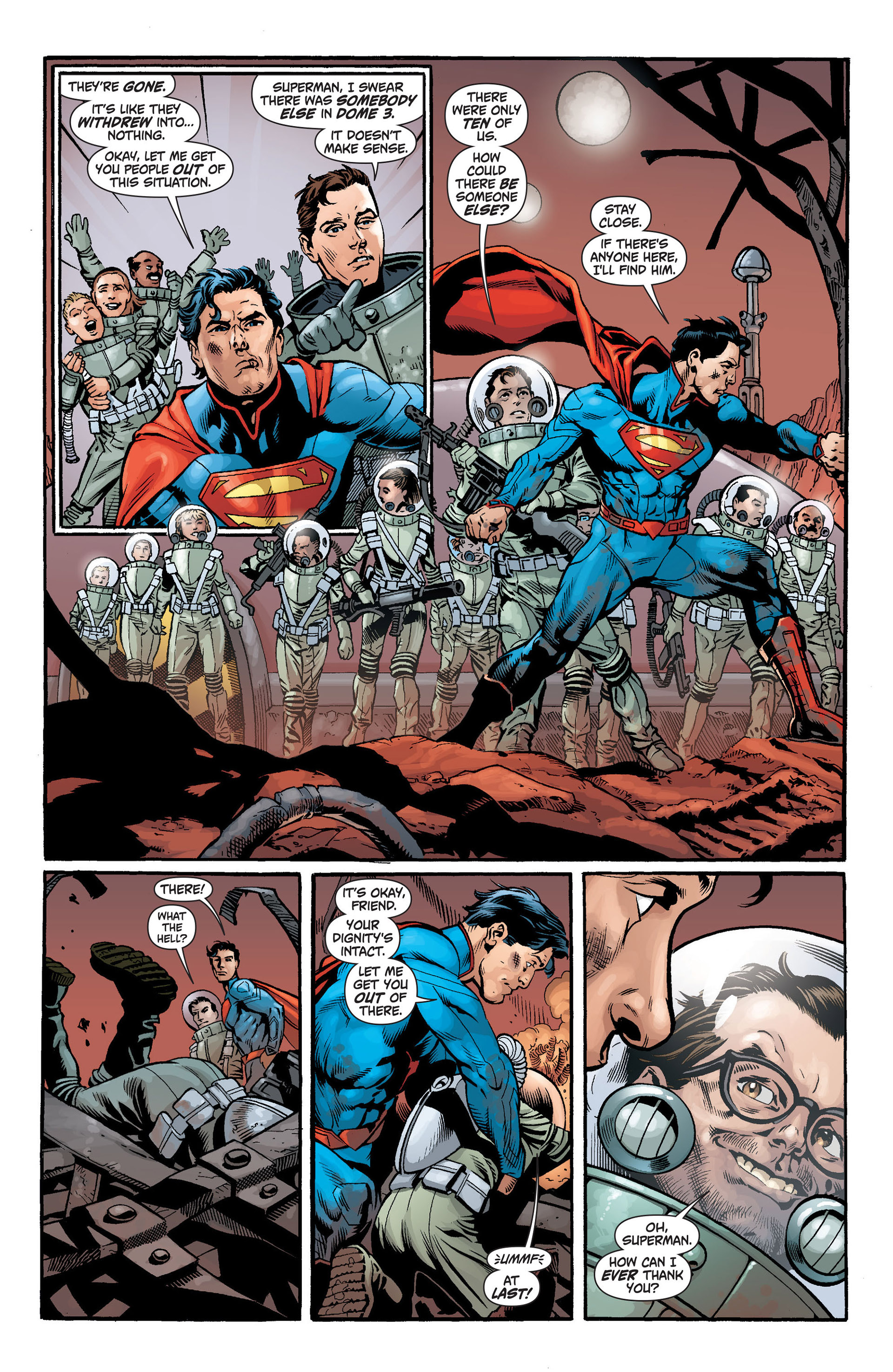 Read online Action Comics (2011) comic -  Issue #14 - 21