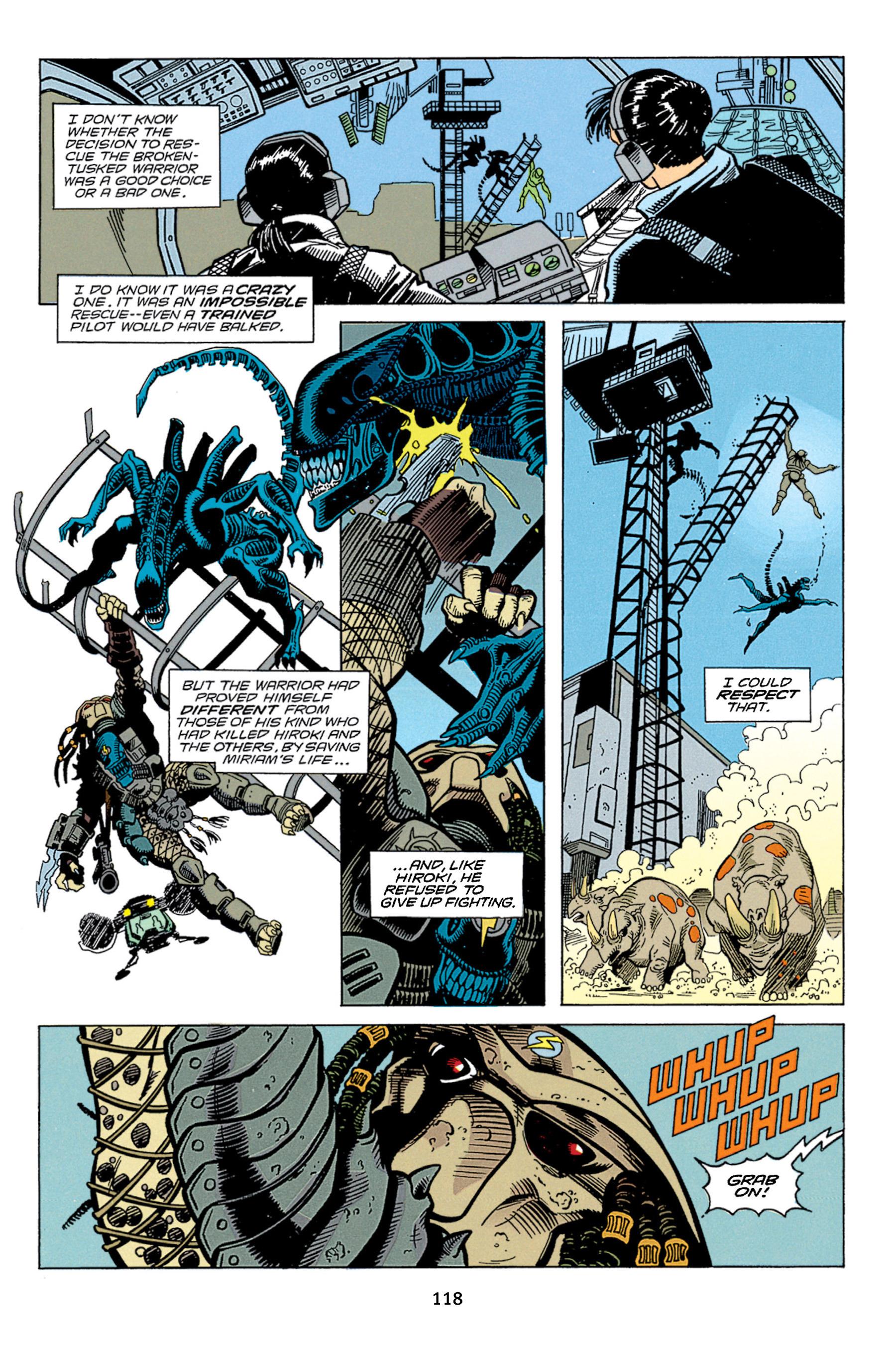 Read online Aliens vs. Predator Omnibus comic -  Issue # _TPB 1 Part 2 - 17