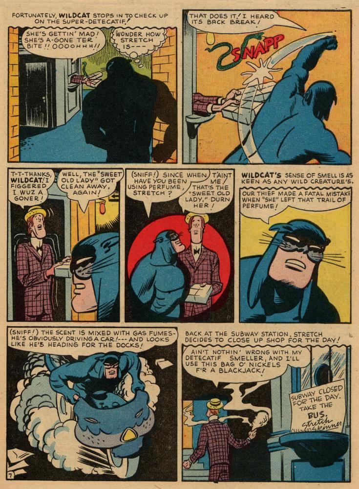 Read online Sensation (Mystery) Comics comic -  Issue #36 - 47
