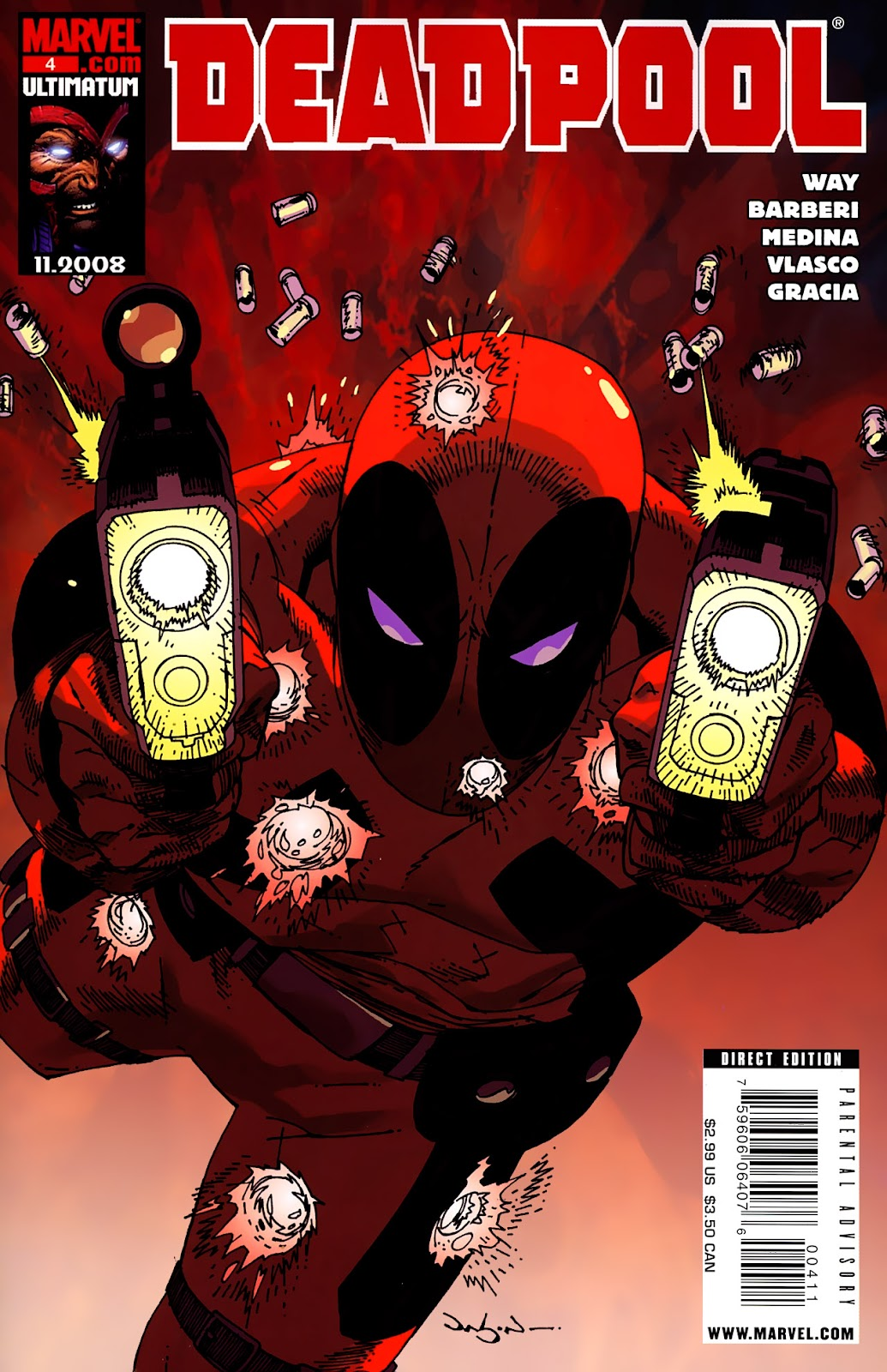 Read online Deadpool (2008) comic -  Issue #4 - 1