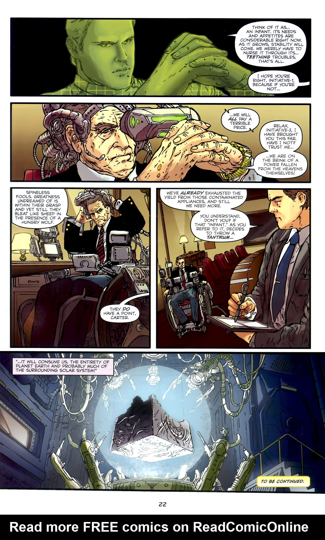 Read online Transformers: Nefarious comic -  Issue #1 - 26