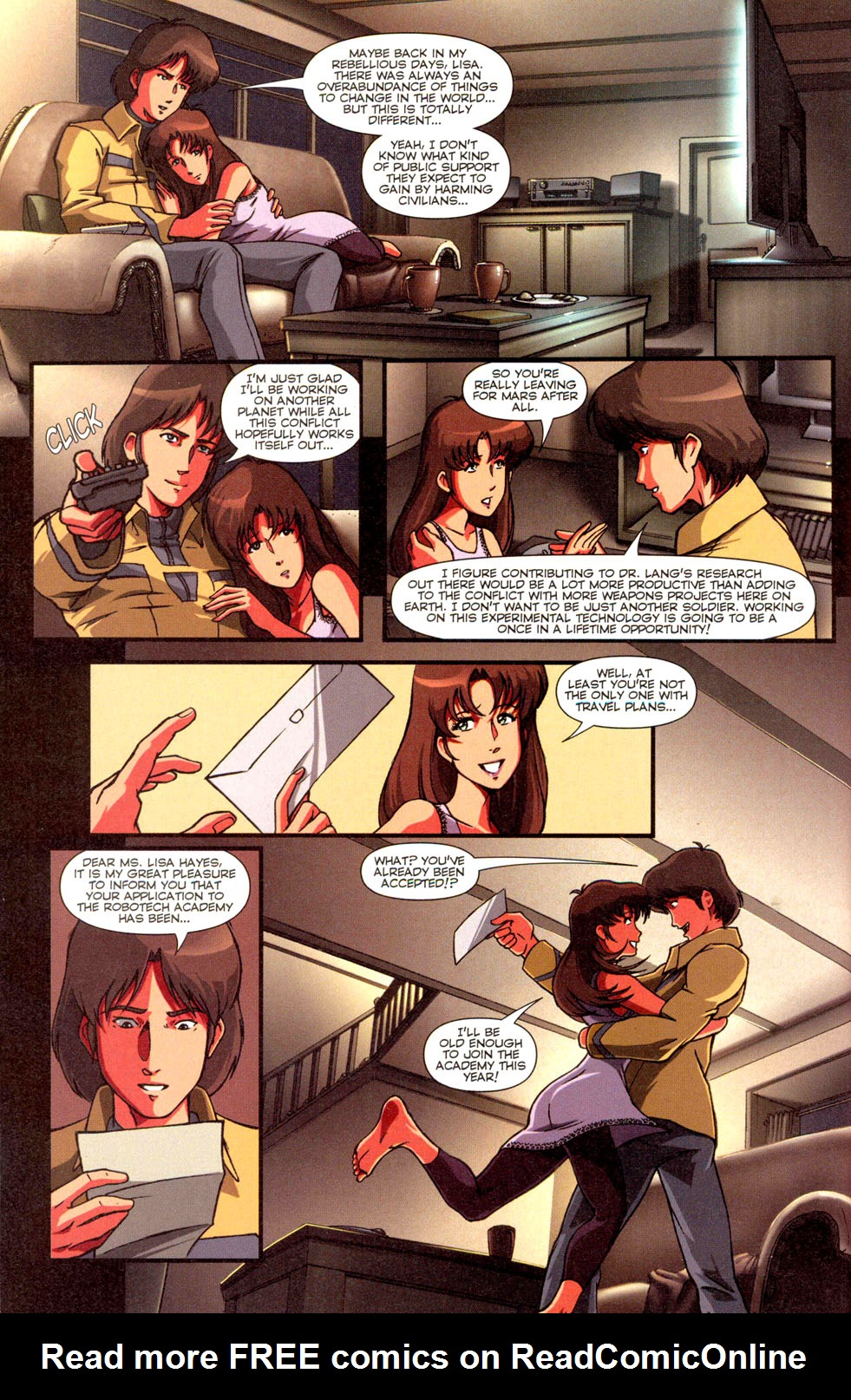 Read online Robotech: Invasion comic -  Issue #2 - 20