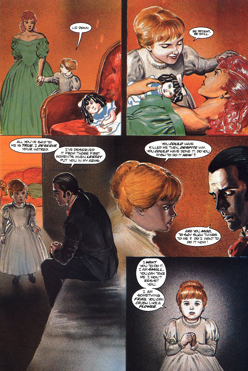 Read online Anne Rice's Interview with the Vampire comic -  Issue #9 - 23