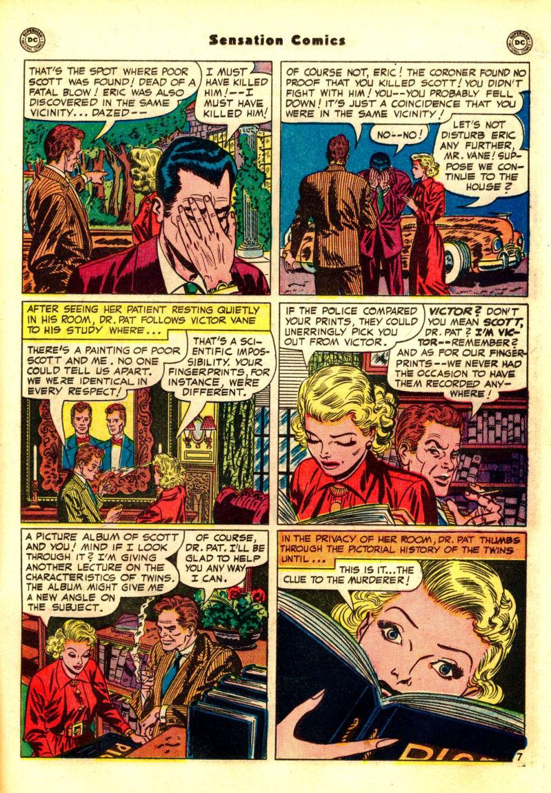 Read online Sensation (Mystery) Comics comic -  Issue #99 - 23