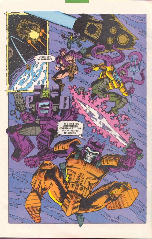 Read online Transformers: Generation 2 comic -  Issue #4 - 21