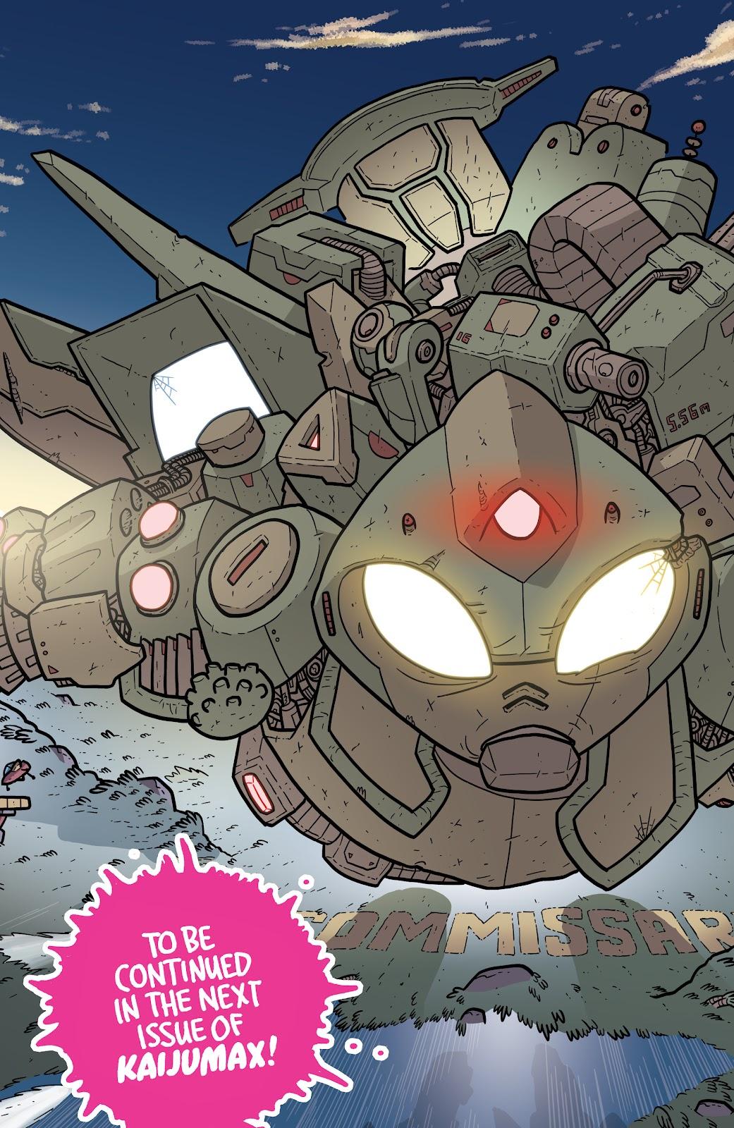 Read online Kaijumax: Season Four comic -  Issue #4 - 27
